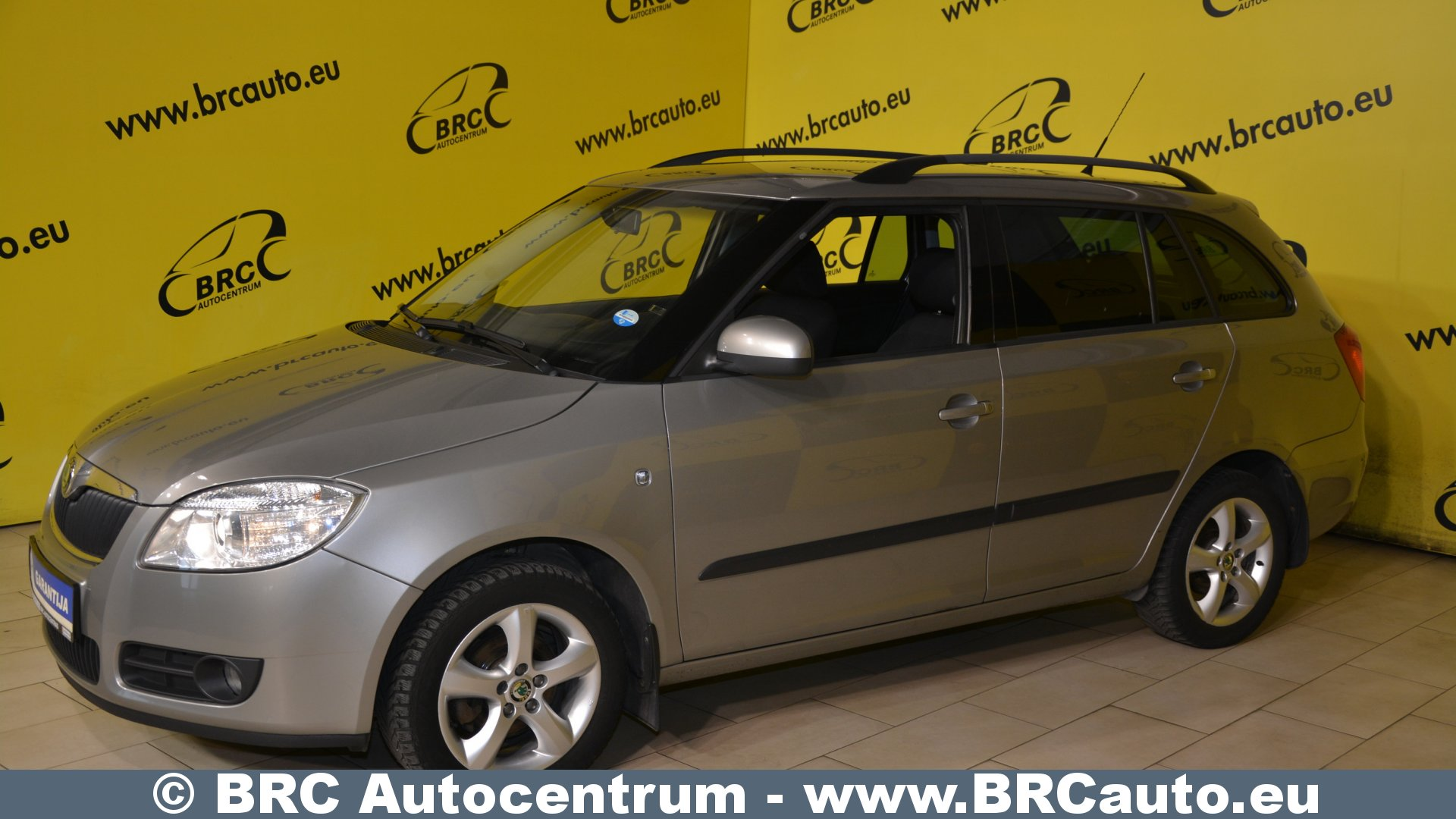 skoda fabia 1 4 16v elegance nr 289 brc autocentras. Black Bedroom Furniture Sets. Home Design Ideas