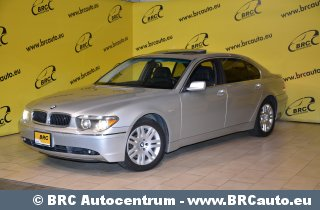 BMW 745, 2003