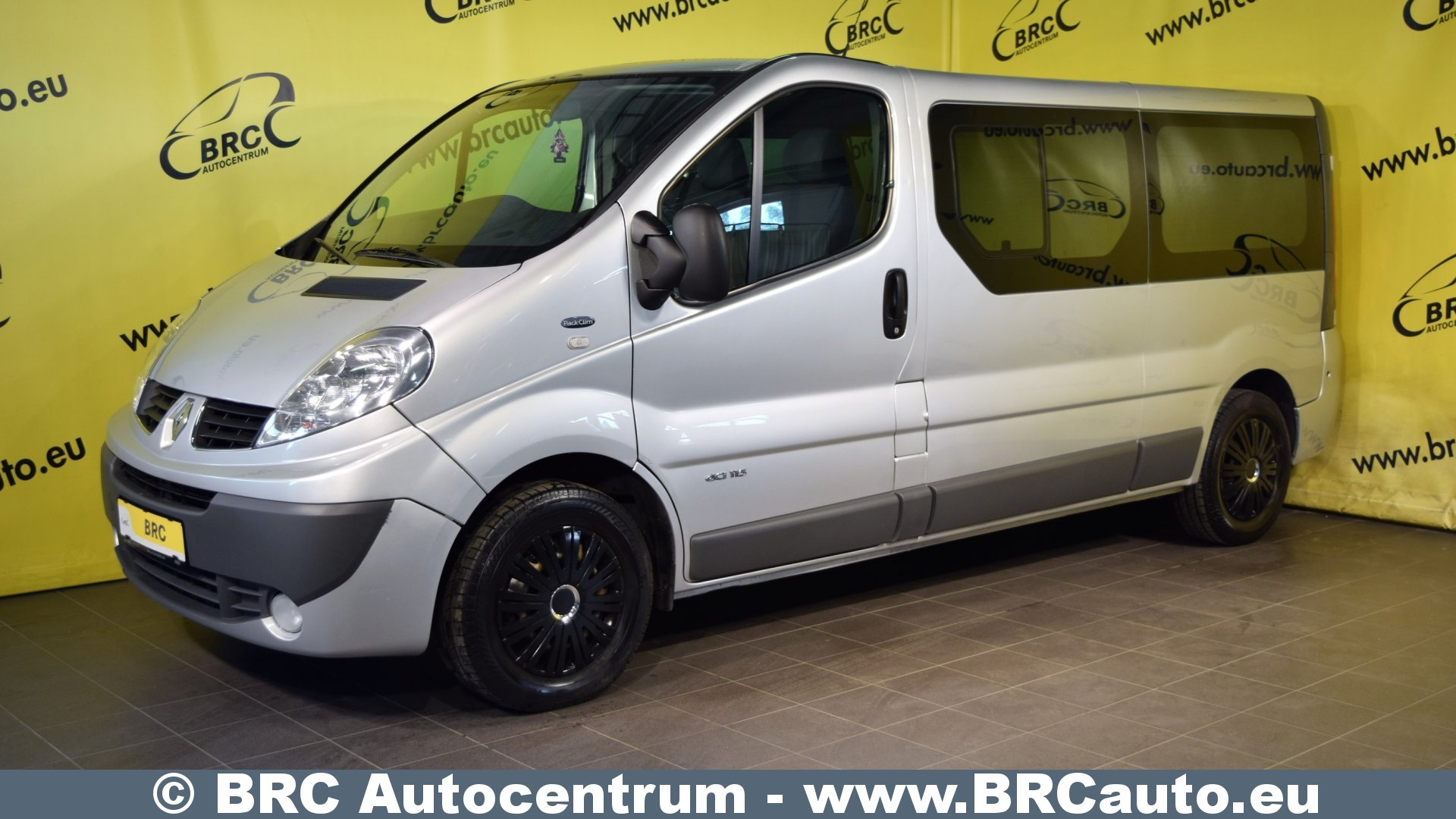 renault trafic passenger l2h1 nr 111 brc autocentrs. Black Bedroom Furniture Sets. Home Design Ideas