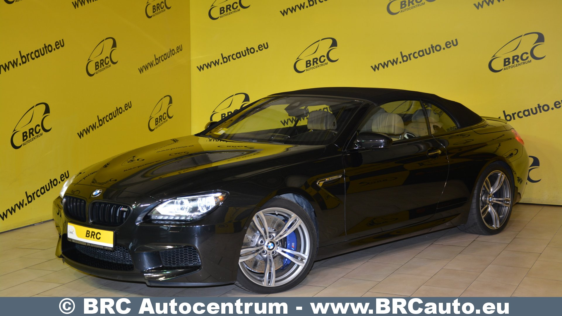 BMW M6 Cabrio Bang&Olufsen DriveLogic Automatas Reservation