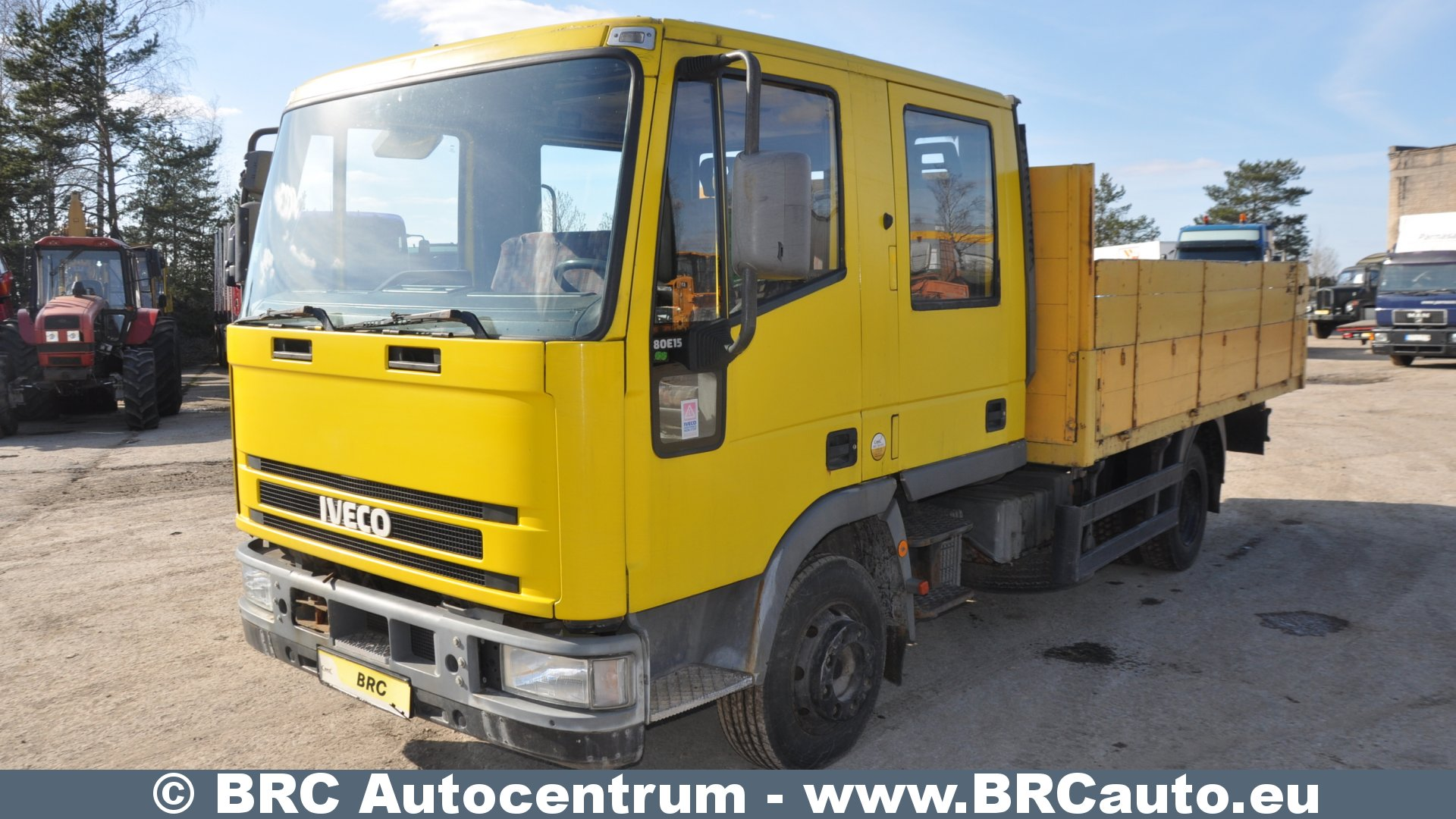 Iveco 80 E 15   Reservation