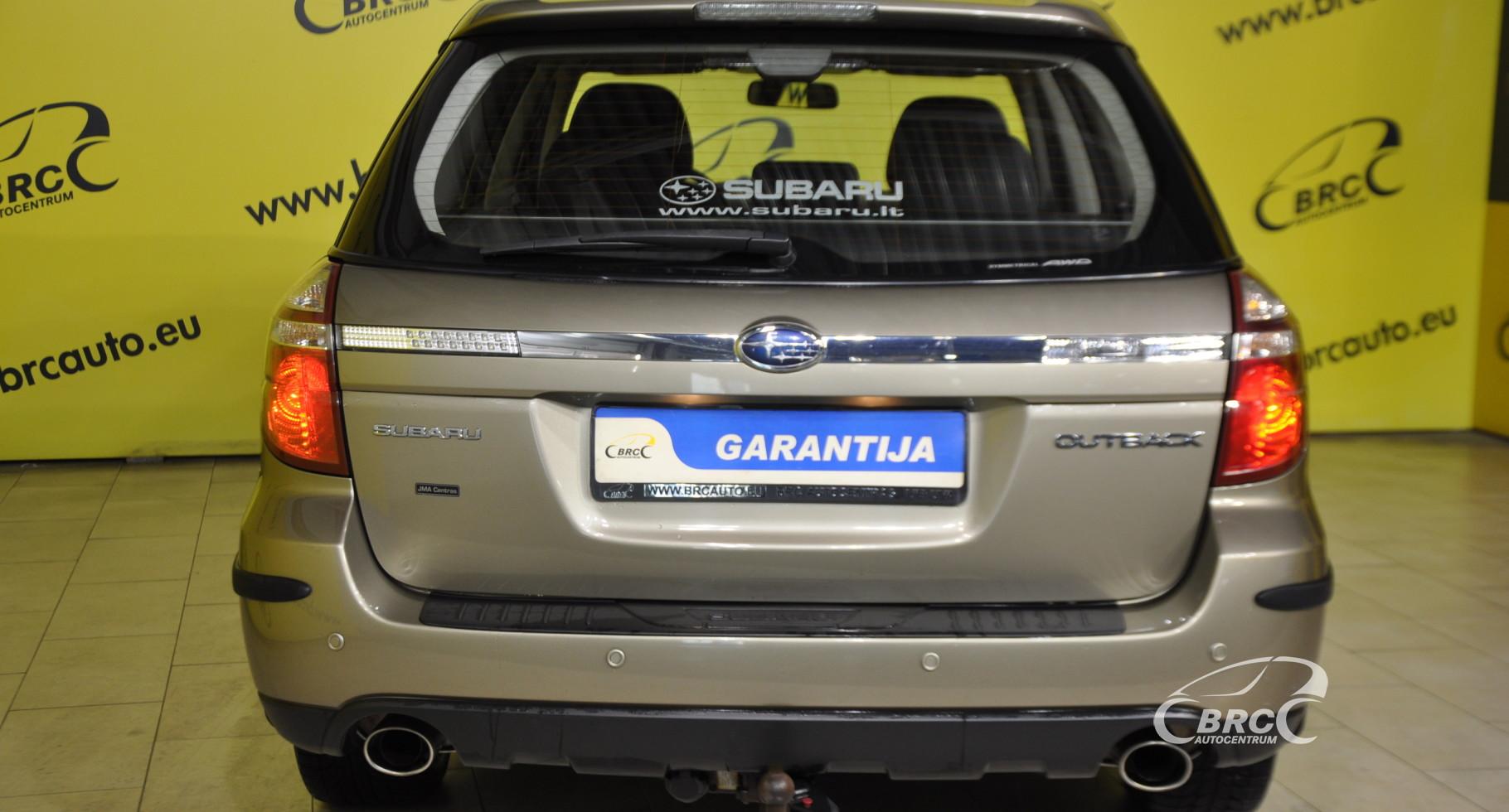 Subaru Outback 2.5 AWD Automatas