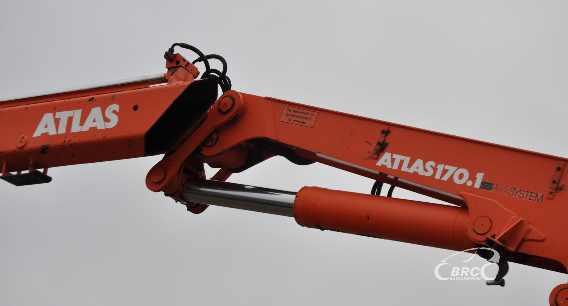 MAN TGA 26.480 6x4 su Atlas 170.1