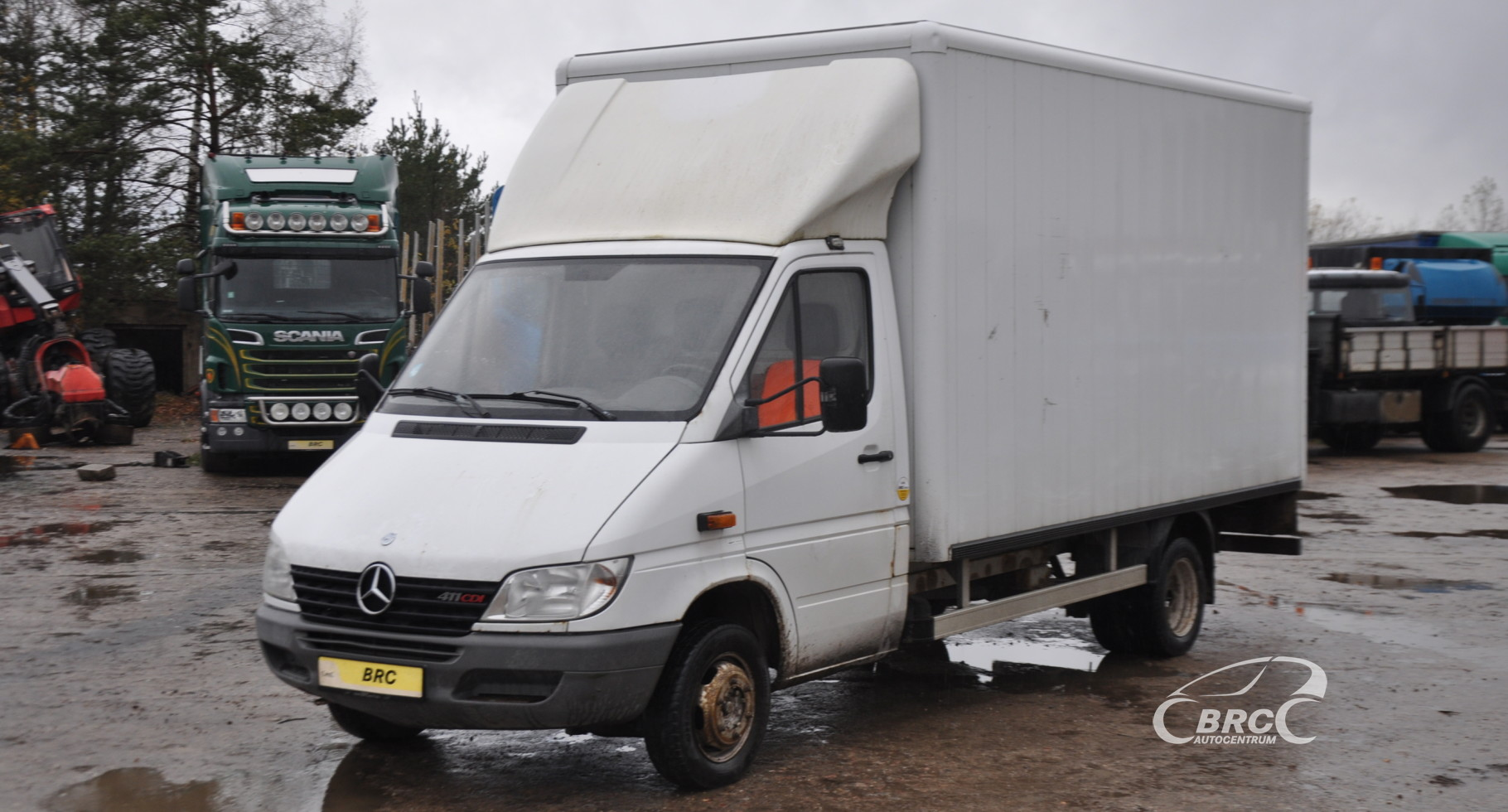 Mercedes-Benz 411 Sprinter