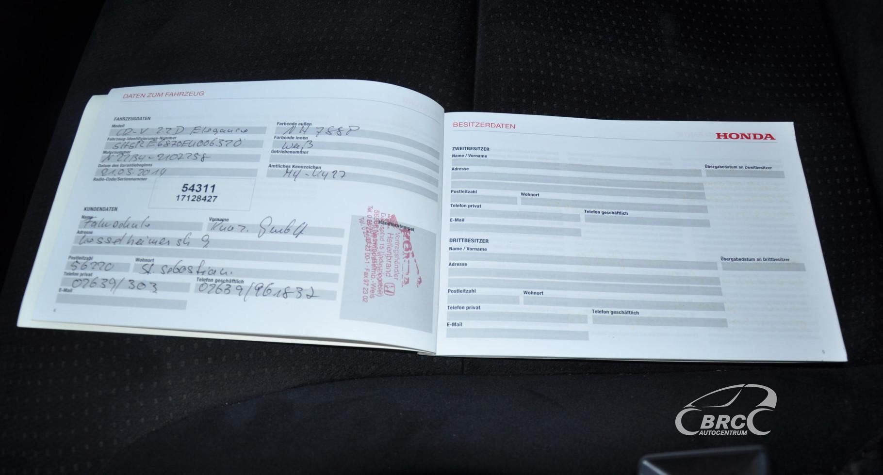 Honda CR-V 2.2 i-DTEC Automatas (ID: 798076) | BRC Autocentrum