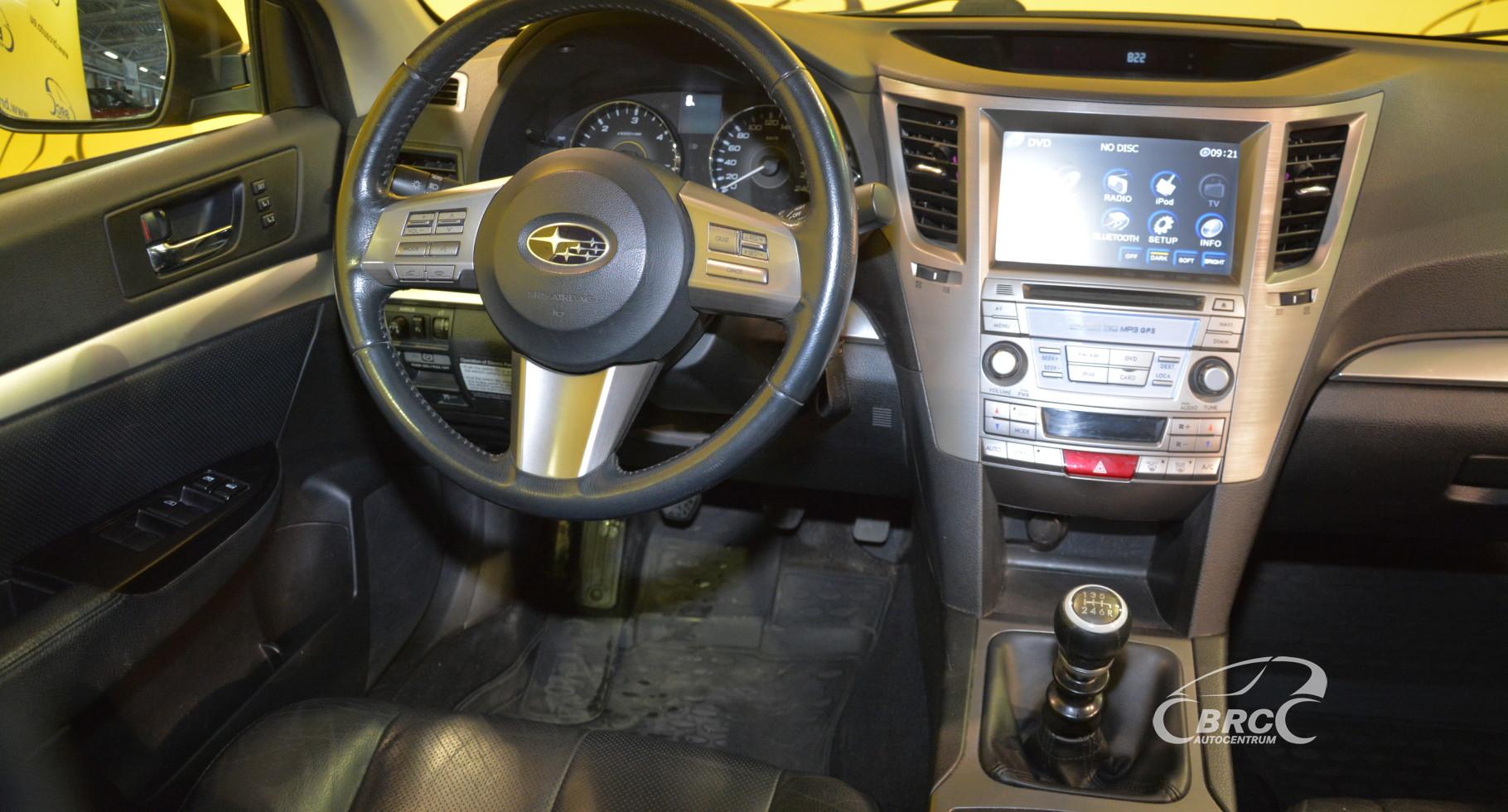 Subaru Legacy: Temperature A, B, C