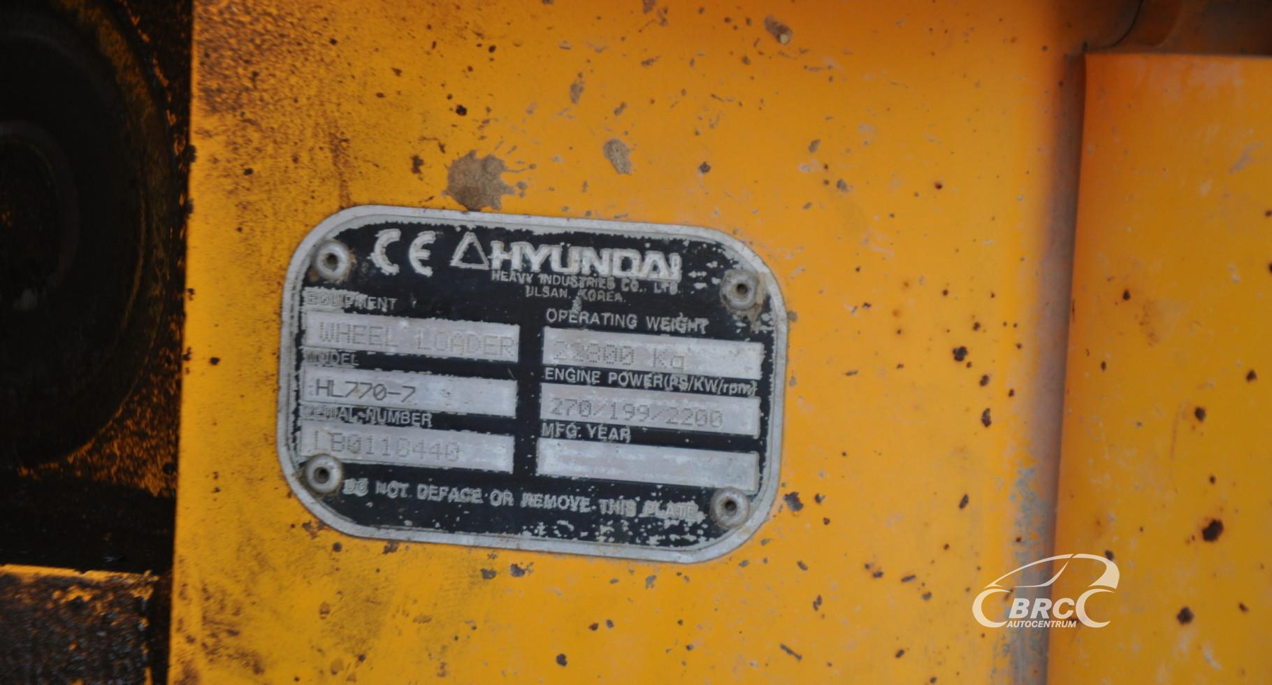 Hyundai HL770-7