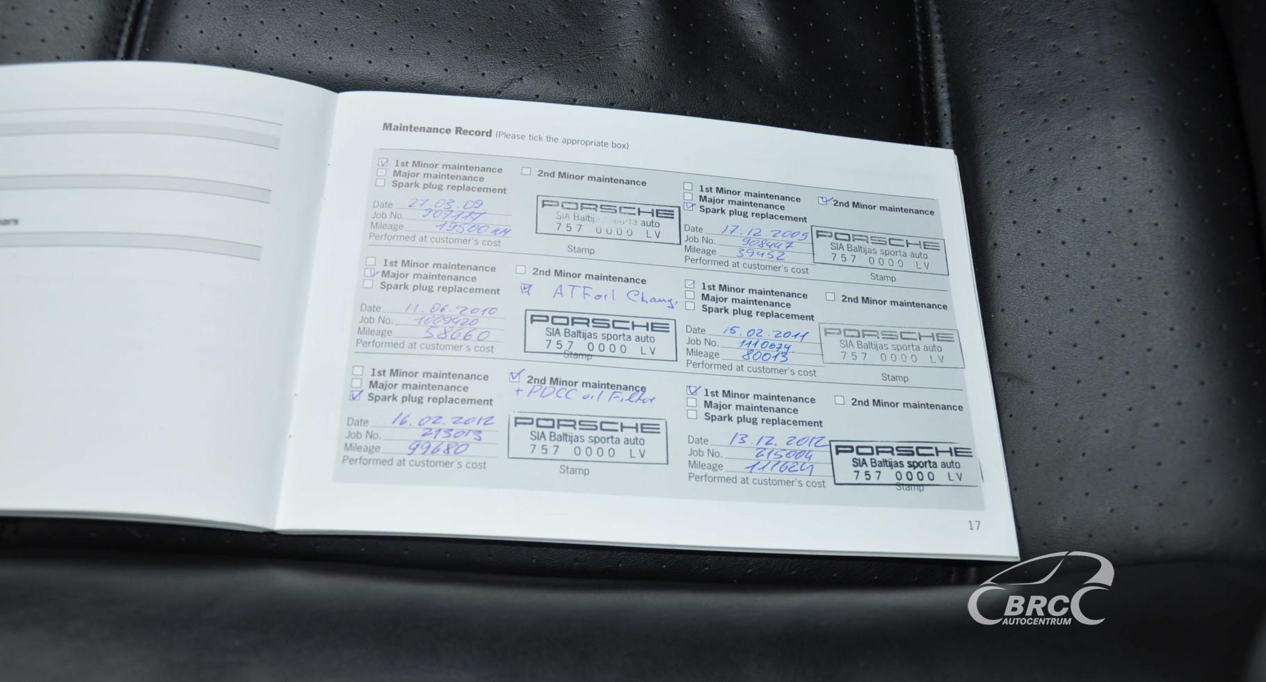 Porsche Cayenne Turbo 4 8 Automatas (ID: 805546) | BRC Autocentrum