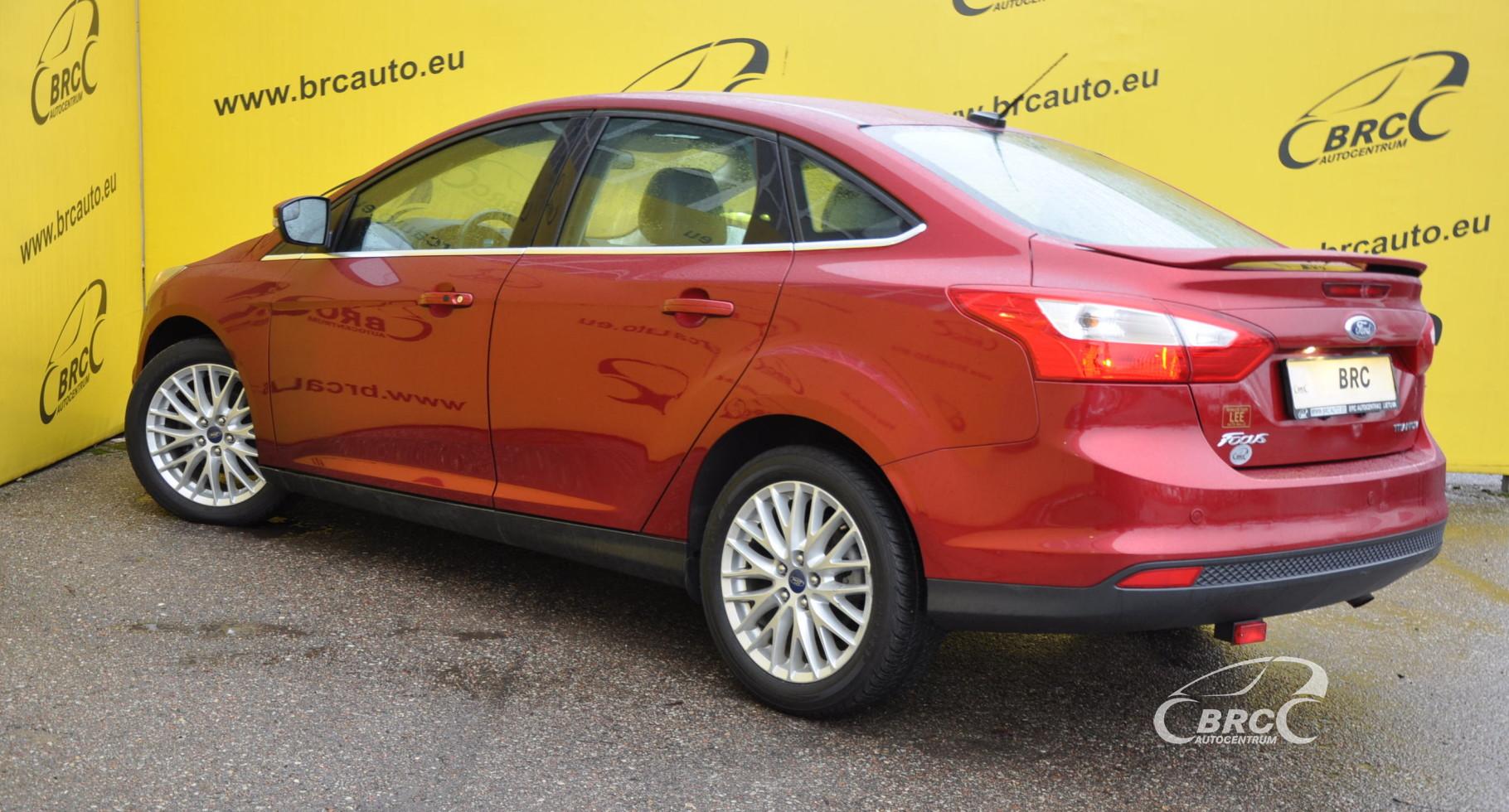 Ford Focus 2.0 Titanium Automatas