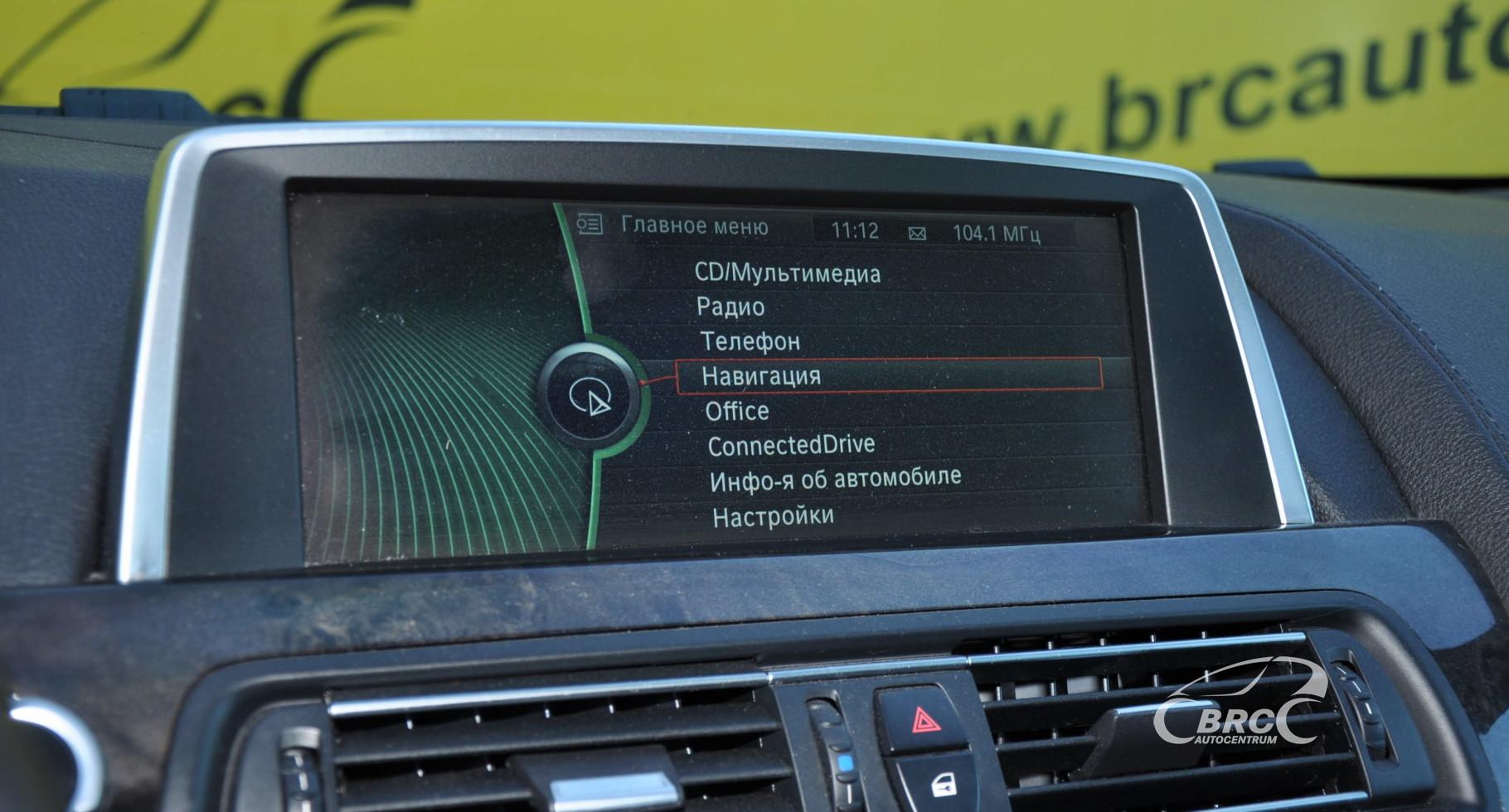 BMW 650 Gran Coupe M-Pakett Automatas