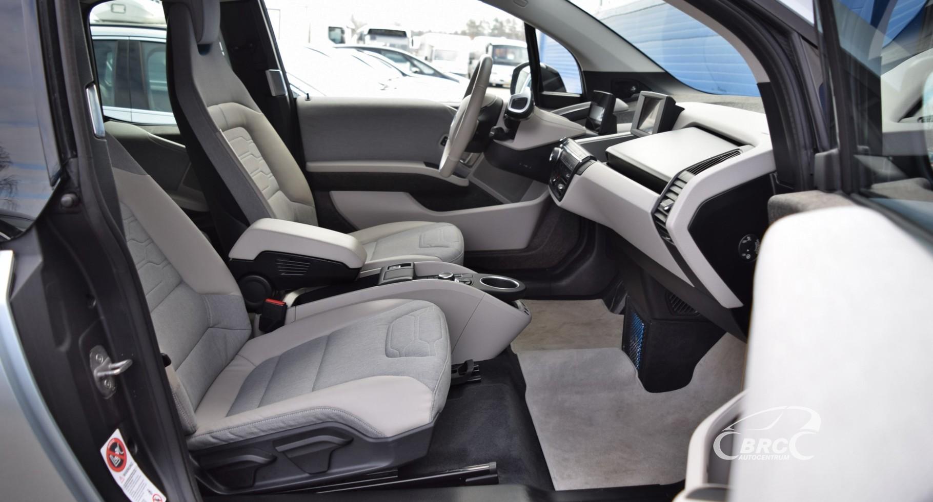 BMW i3 A/T Rapid Charging