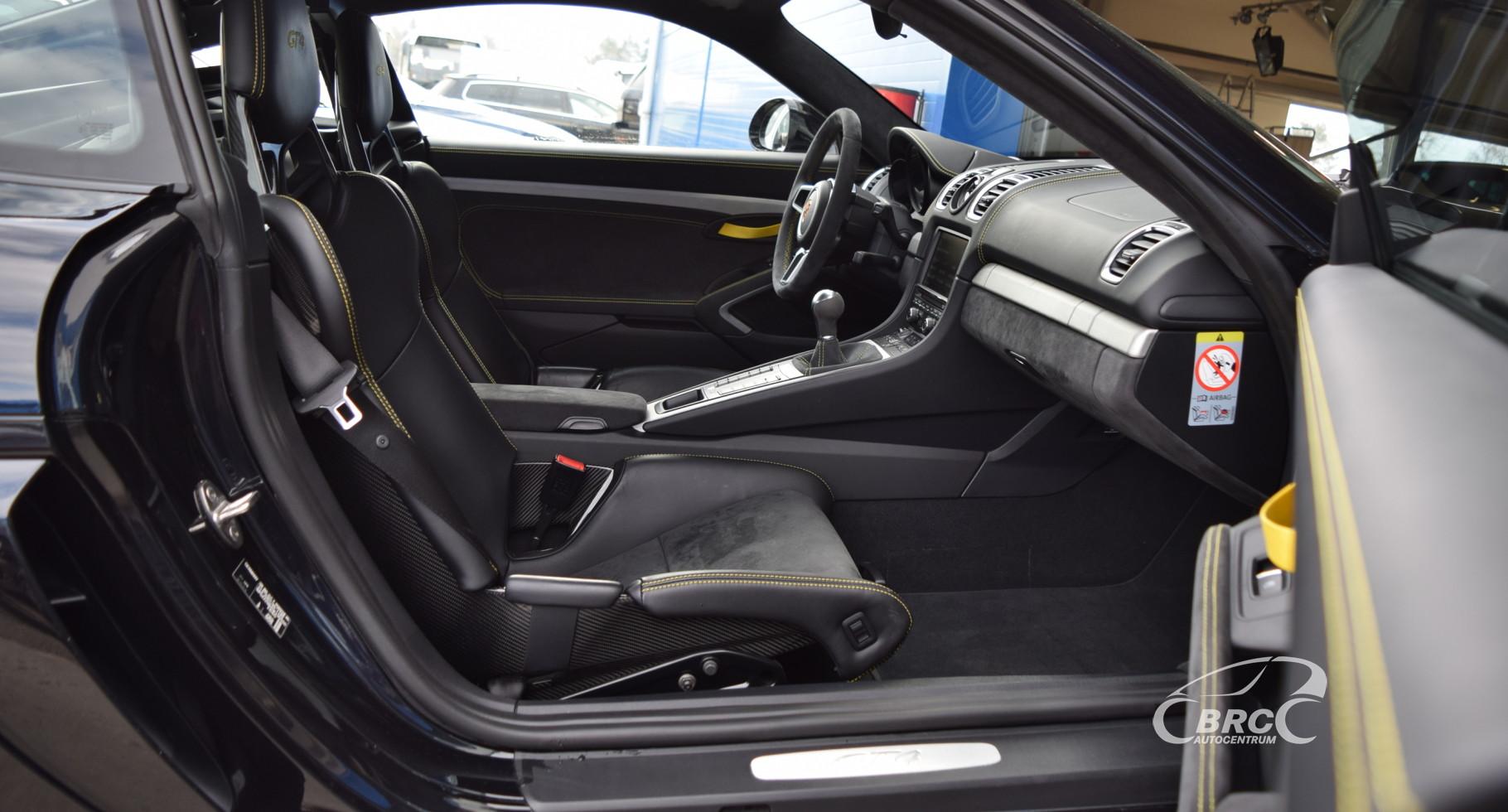 Porsche Cayman GT4 Clubsport Sport Chrono