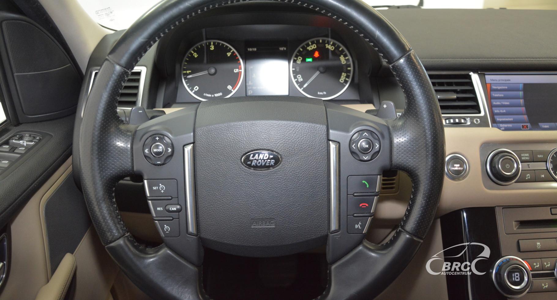 Land-Rover Range Rover Sport TDV6 HSE Automatas