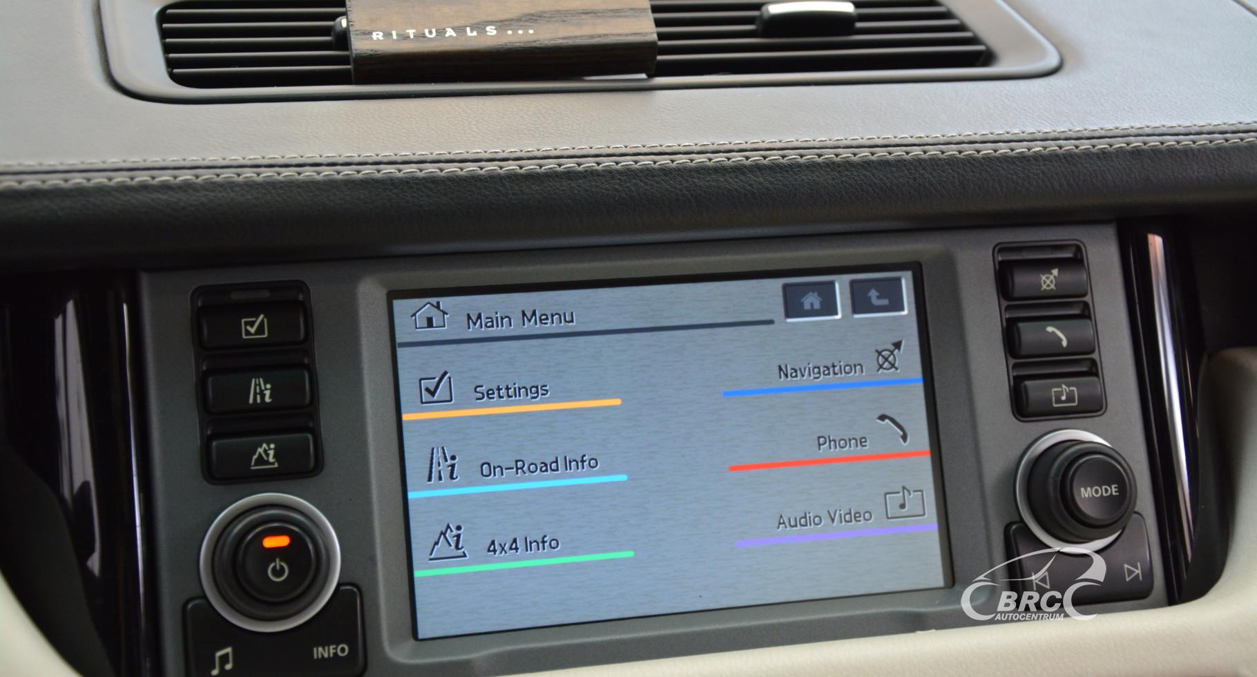Land-Rover Range Rover 3.6 TDV8 Automatas