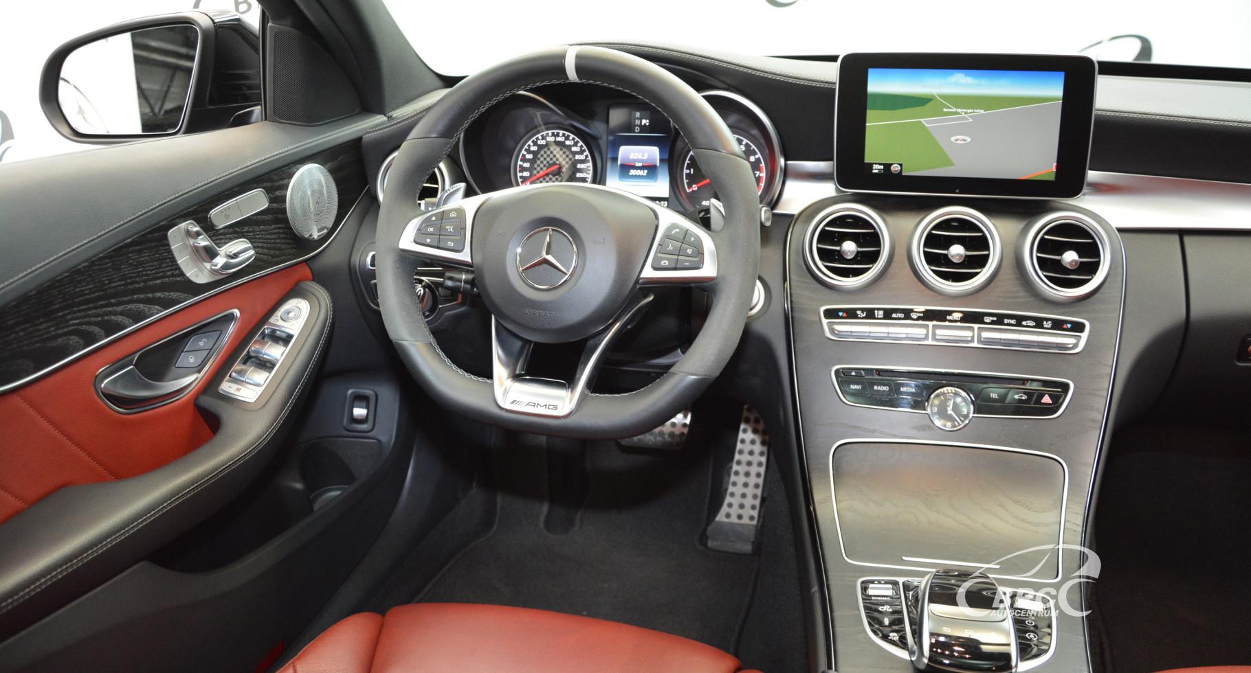 Mercedes-Benz C 43 AMG 4Matic Automatas
