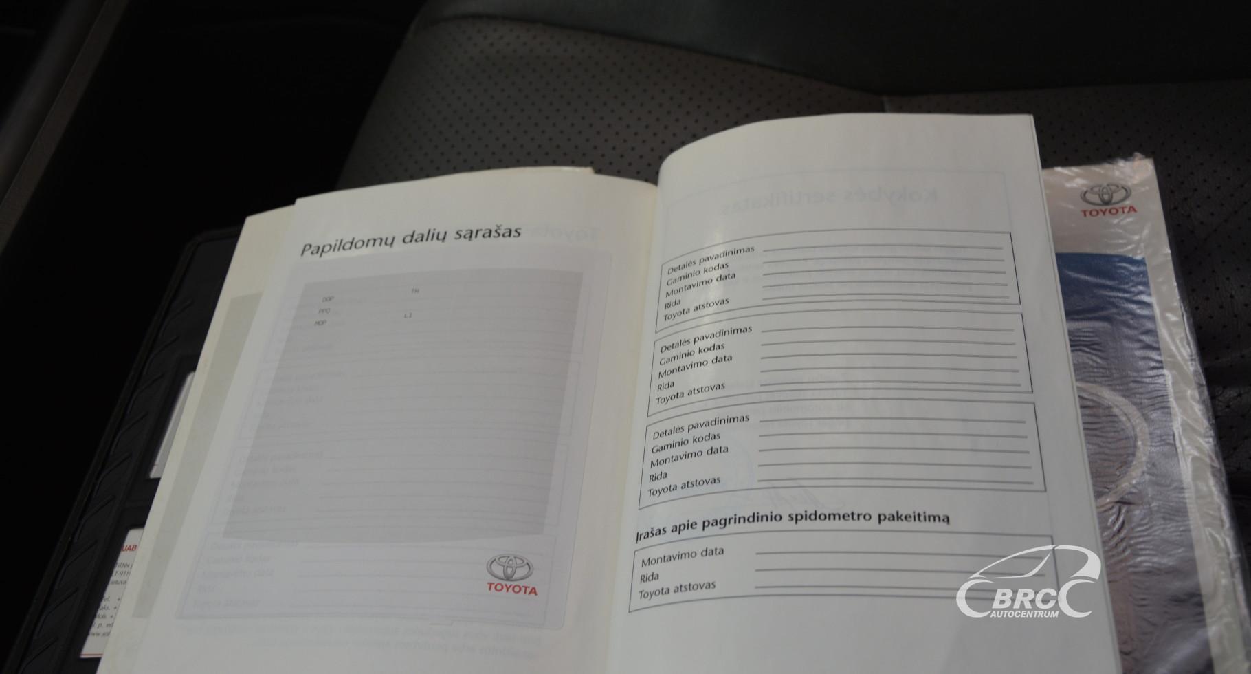 Toyota Land Cruiser 3.0 D-4D Luxury 4WD Automatas