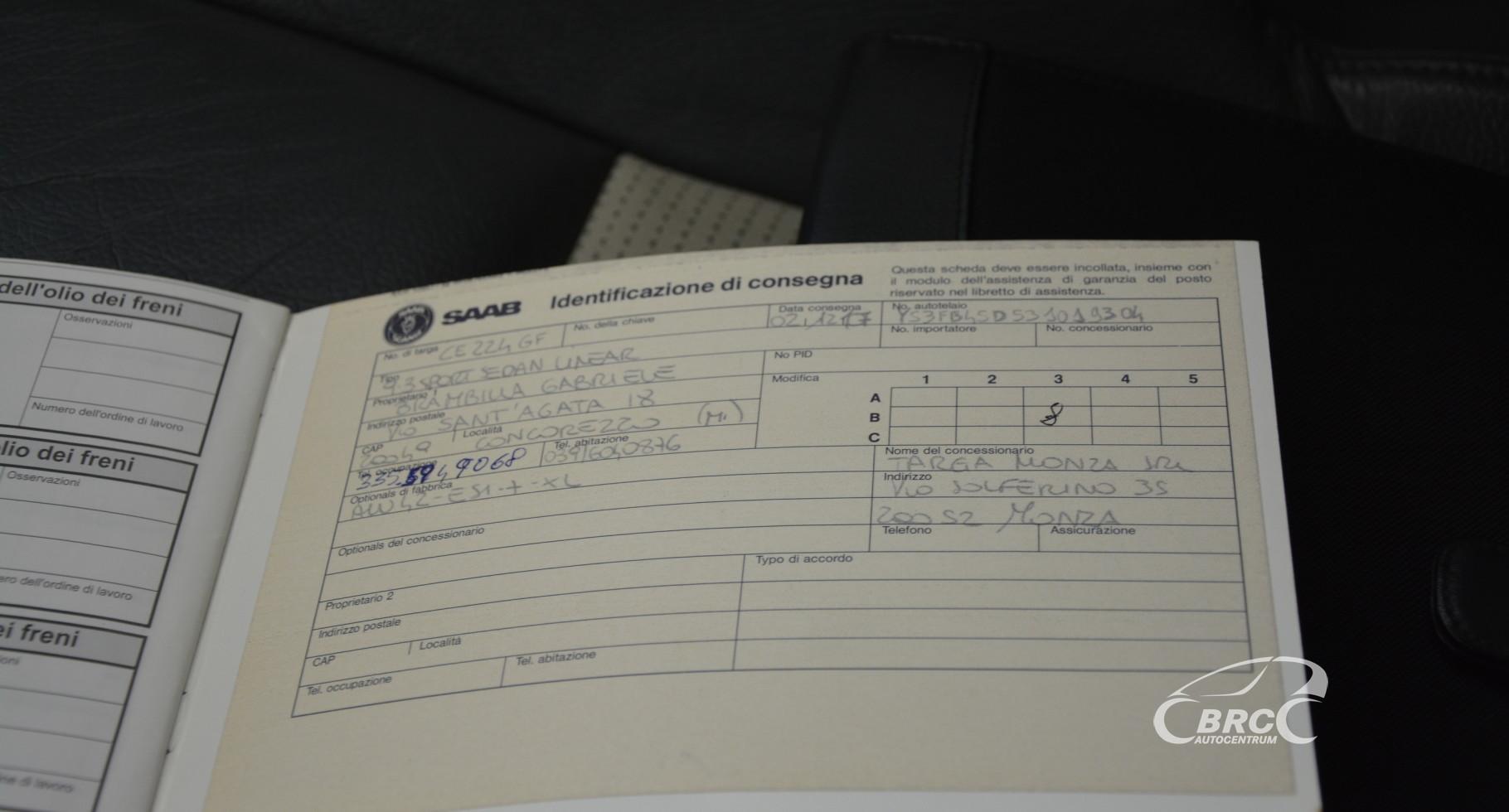 Saab 9-3 2.2 TiD Linear