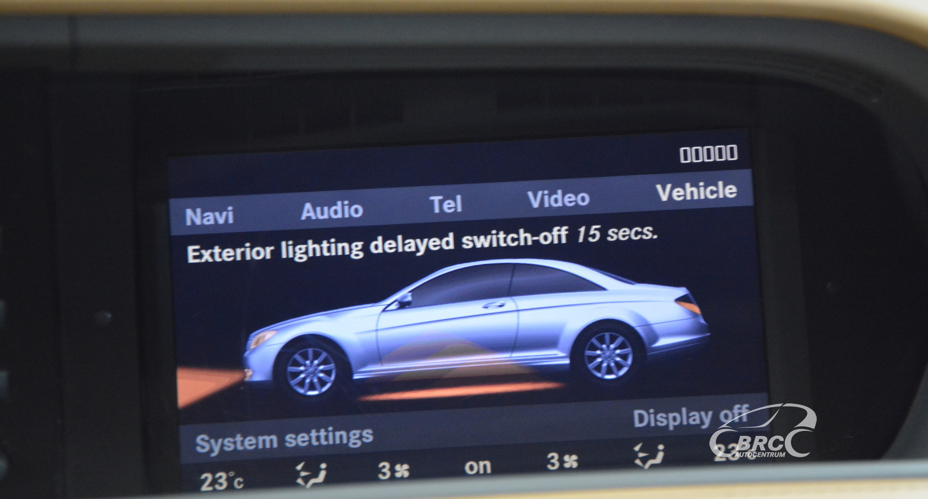 Mercedes-Benz CL 600 V12 Automatas