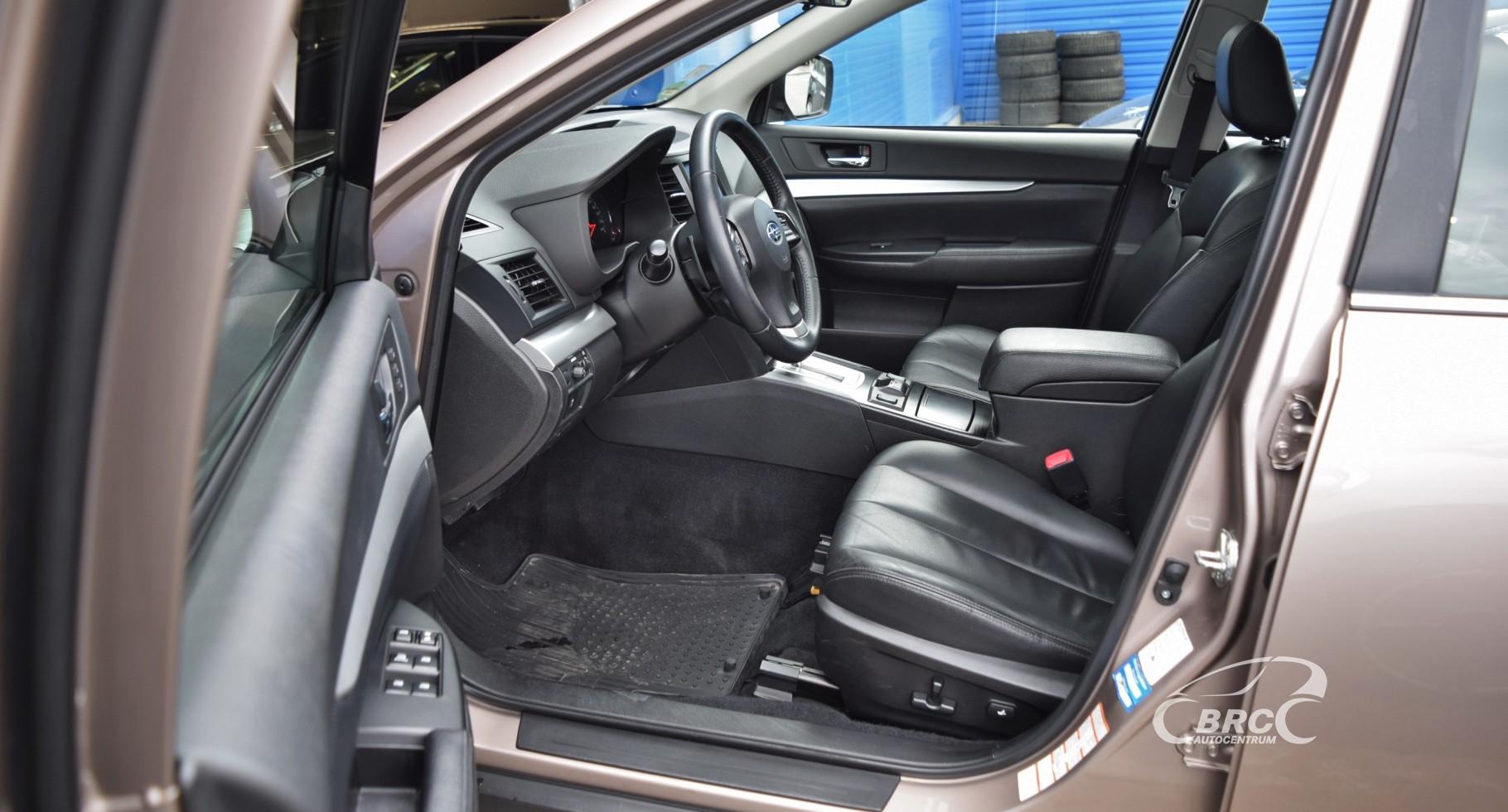 Subaru Legacy Outback Symmetrical AWD