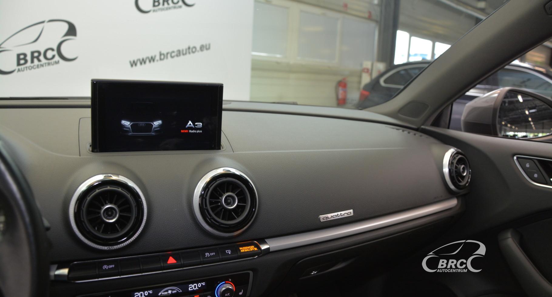 Audi A3 2.0 TFSI Quattro S-line Automatas