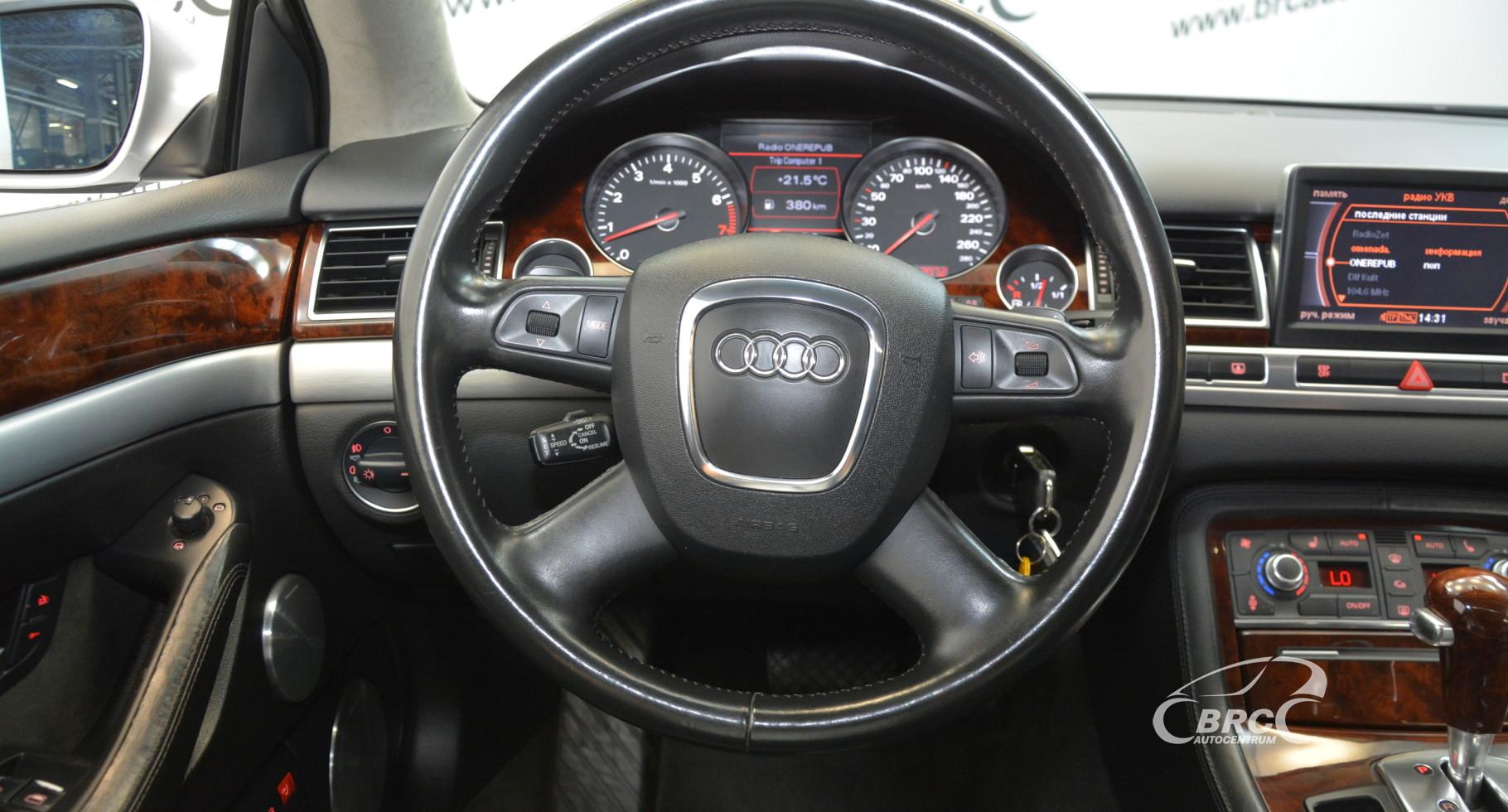 Audi A8 6.0 W12 Quattro Long Automatas