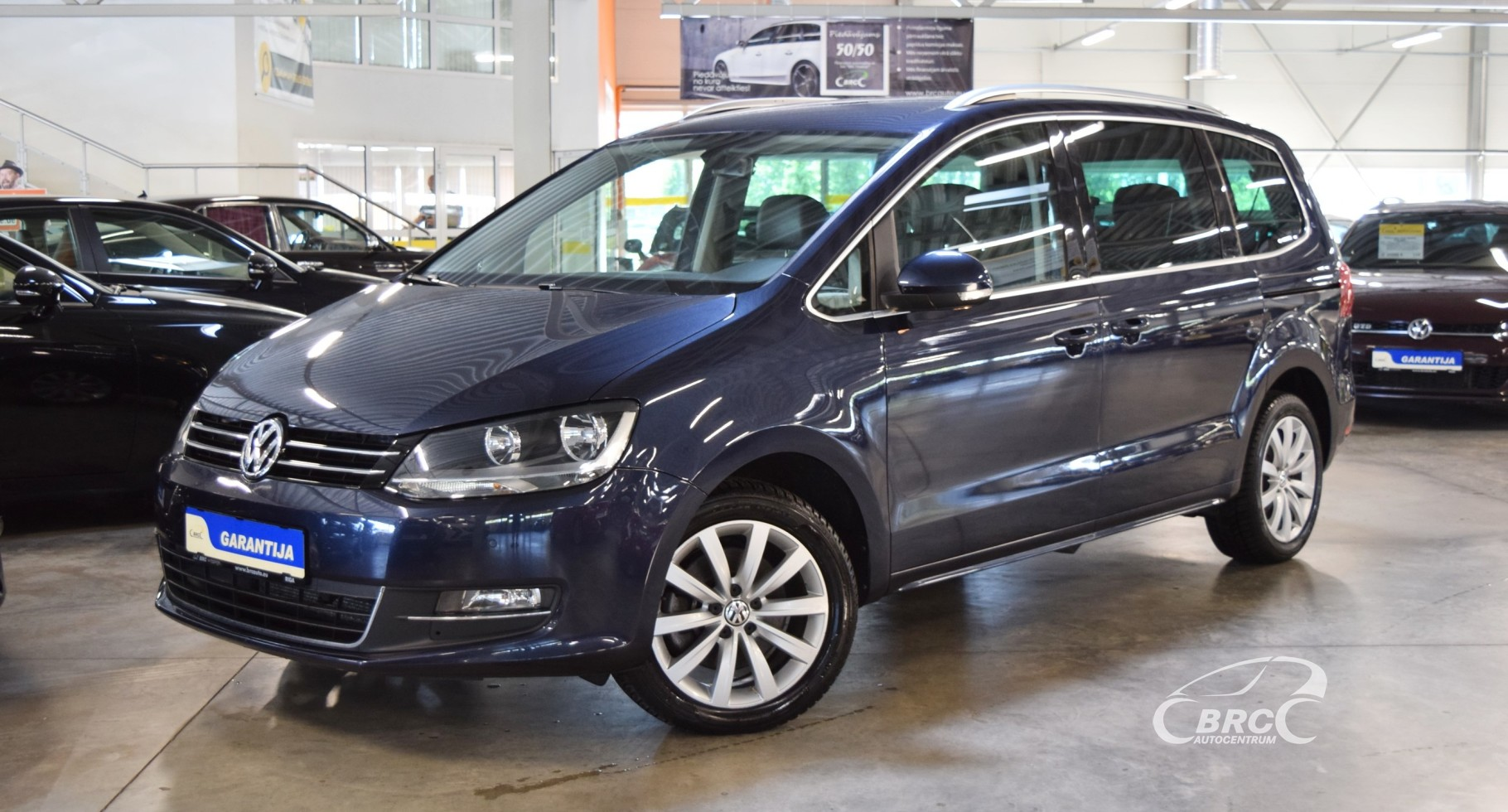 Volkswagen Sharan TDi DSG Bluemotion 7 seats