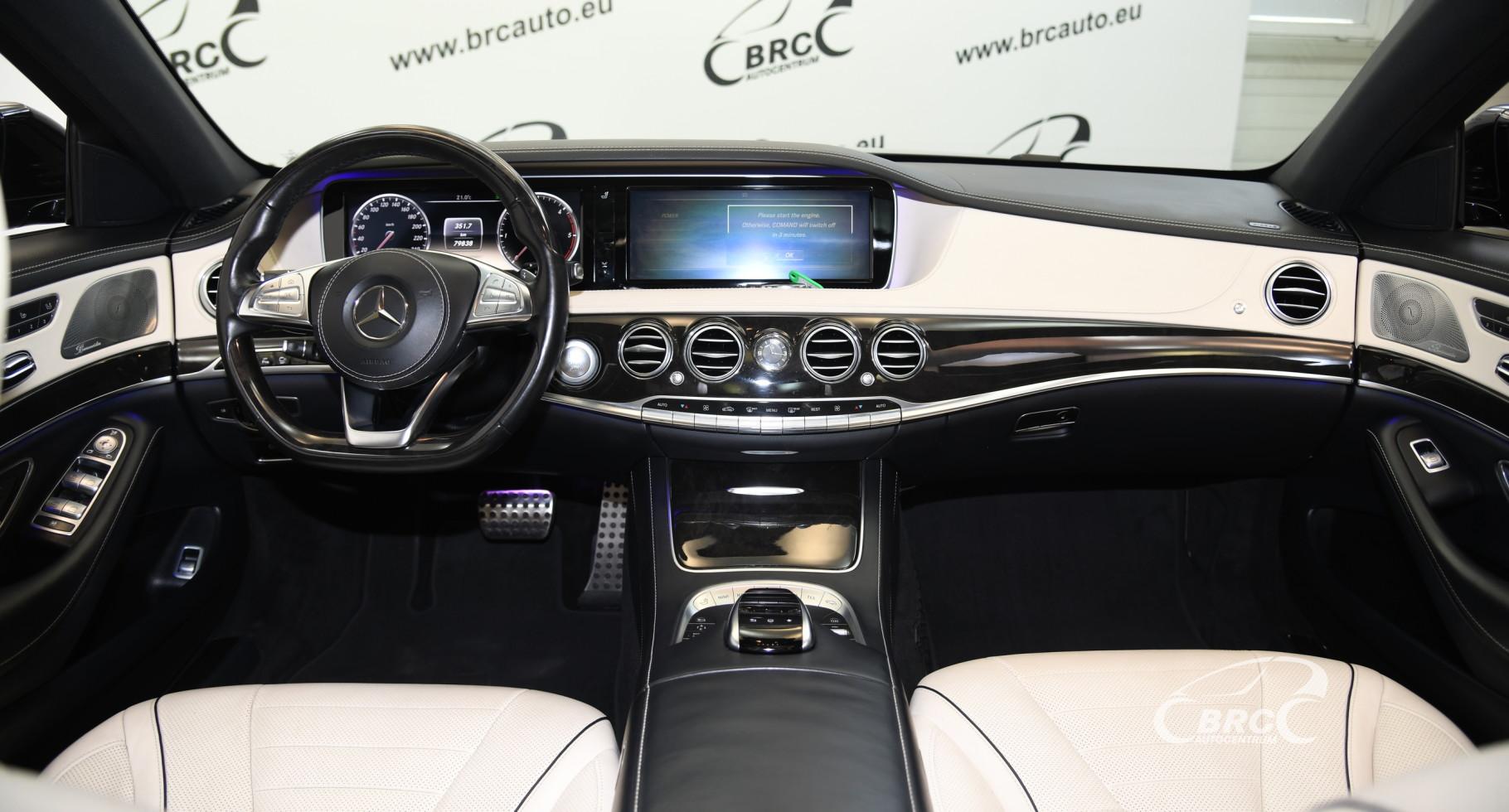 Mercedes-Benz S 350 CDI Bluetec AMG