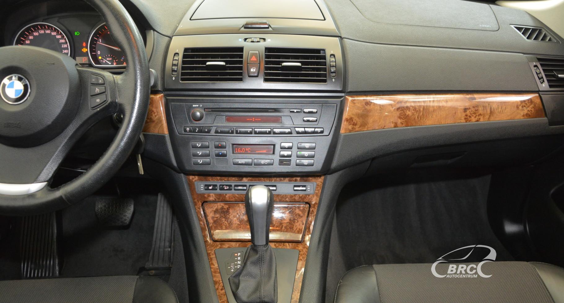 BMW X3 2.0d Automatas