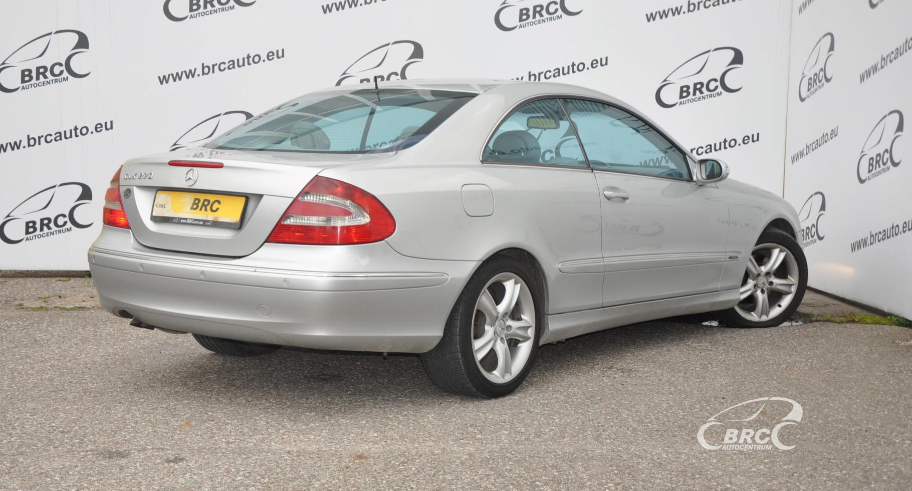 Mercedes-Benz CLK 270 CDI Avantgarde Automatas