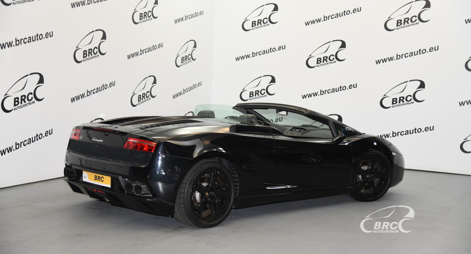 Lamborghini Gallardo 5.0 V10 Spyder Automatas