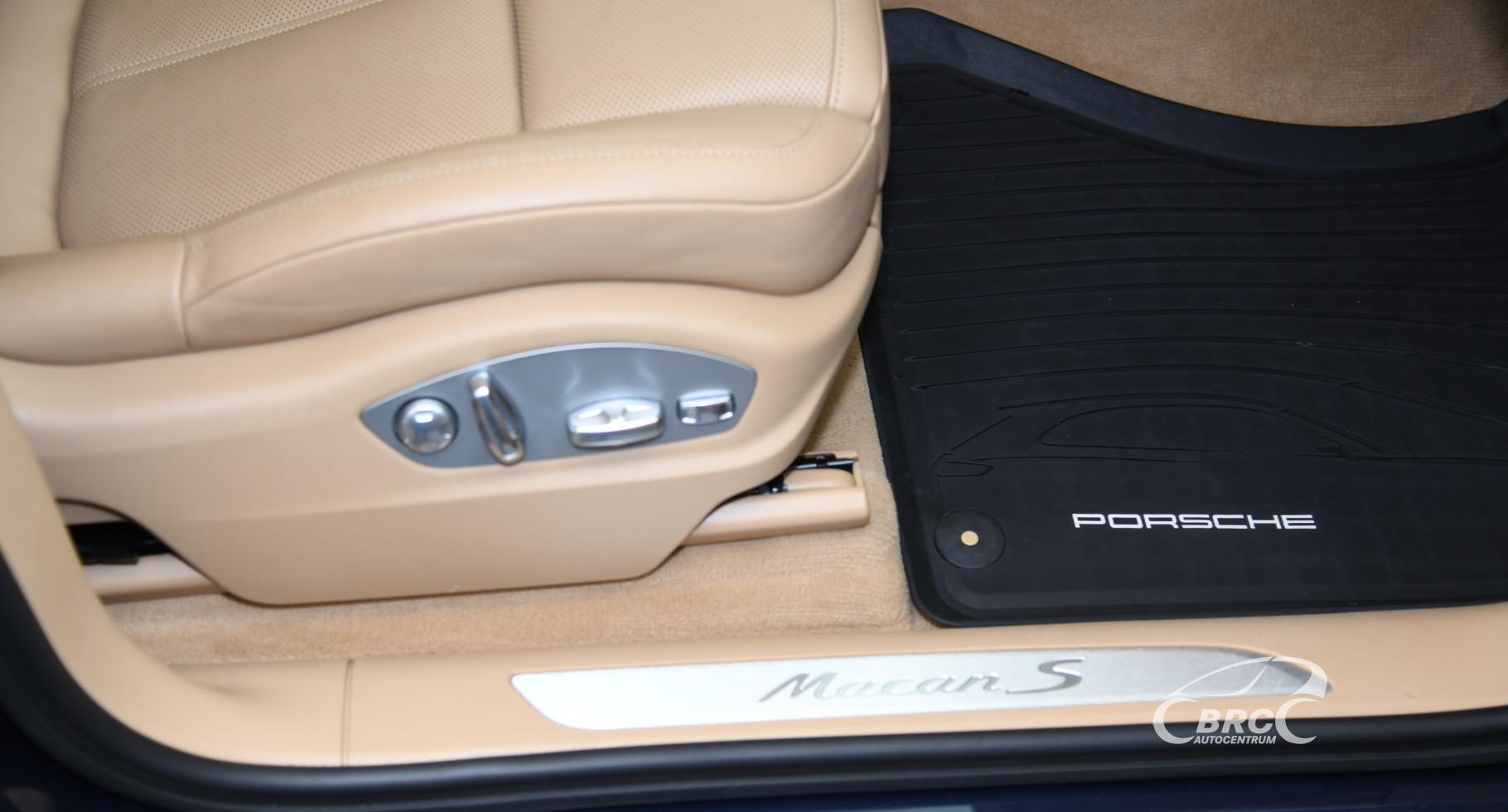 Porsche Macan S 3.6 V6 Automatas
