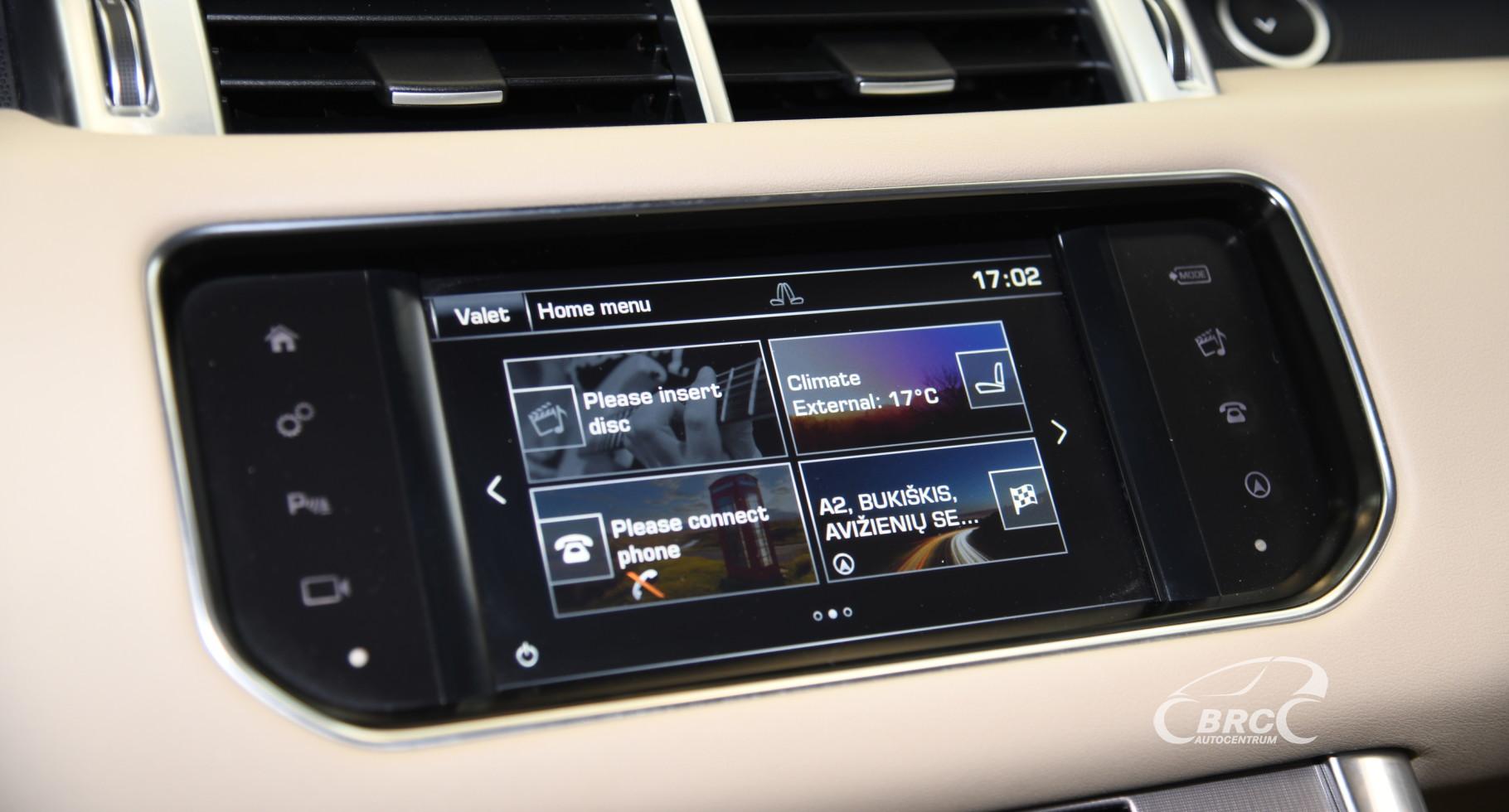Land-Rover Range Rover Sport 3.0 HSE Automatas