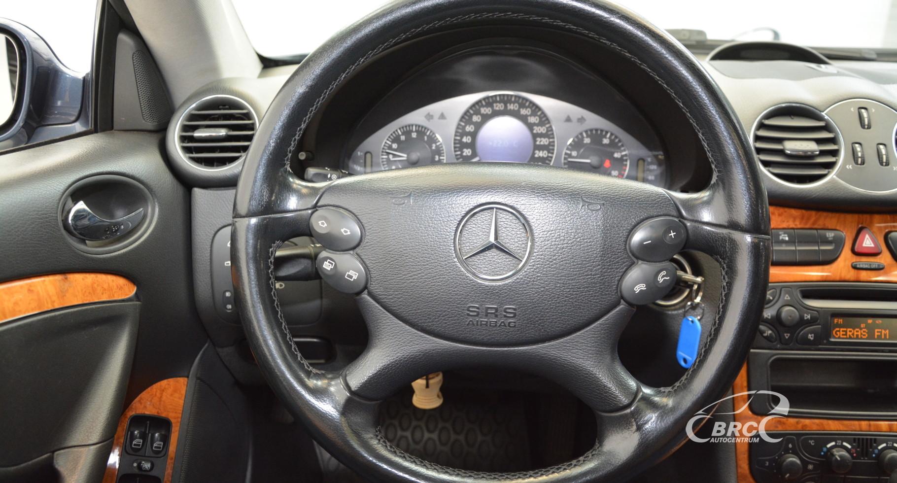 Mercedes-Benz CLK 270 CDI Elegance Automatas