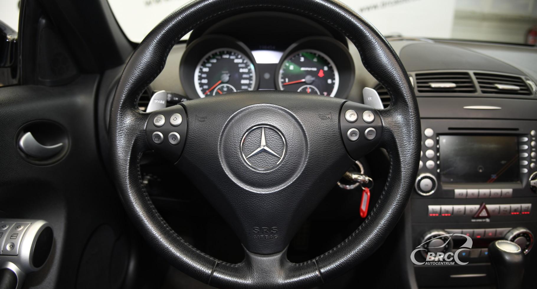 Mercedes-Benz SLK 55 AMG Automatas