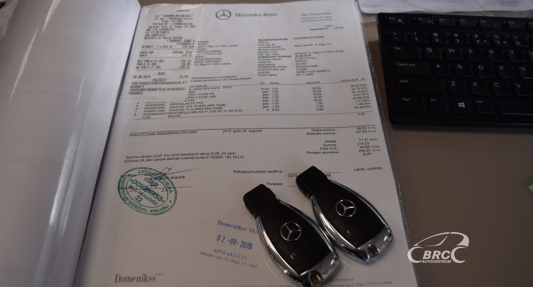 Mercedes-Benz E 320 CDI Avantgarde AMG Desing