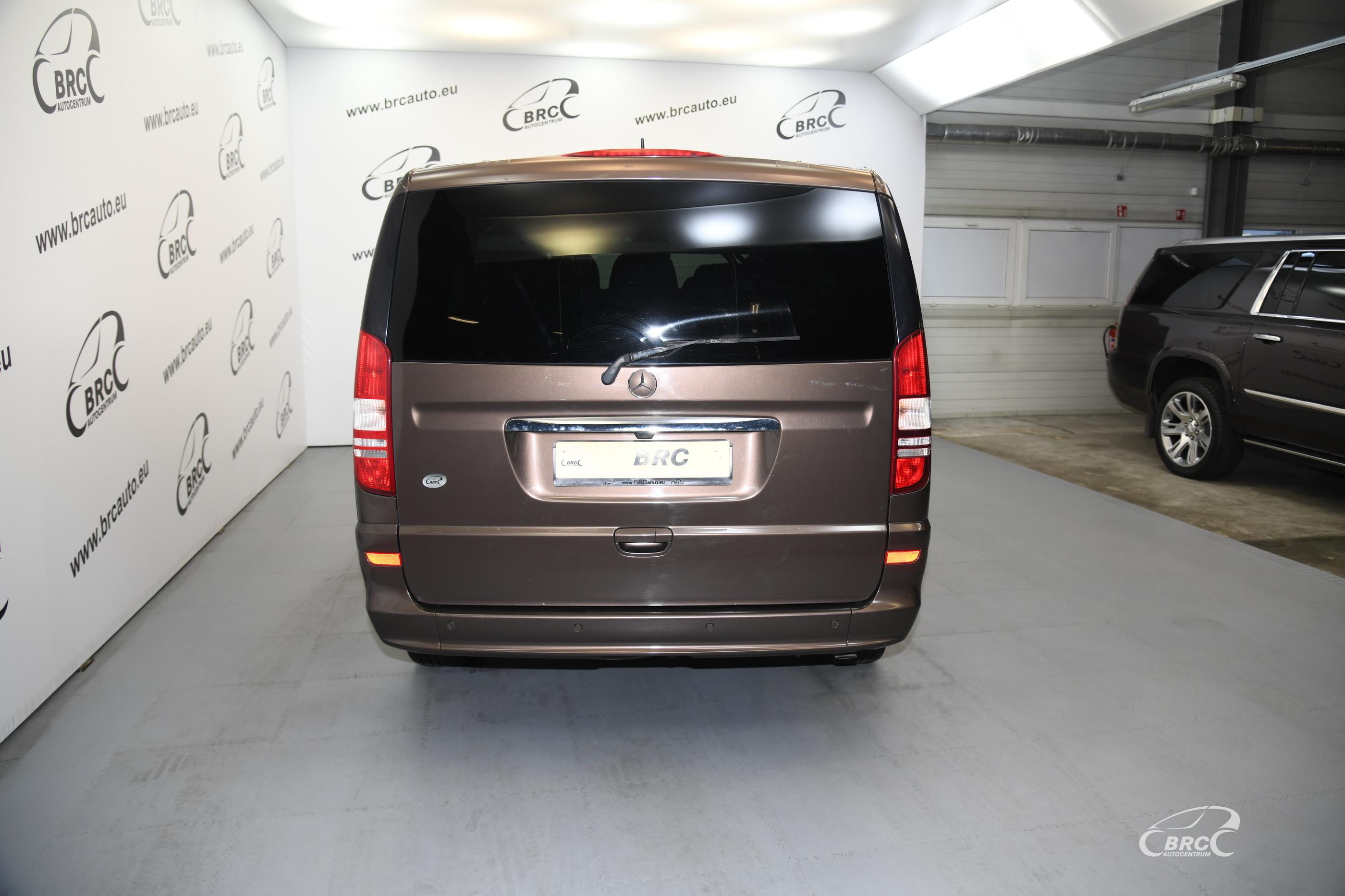 Mercedes-Benz Viano 2.2 CDI 4 Matic Ambiente Edition Automatas
