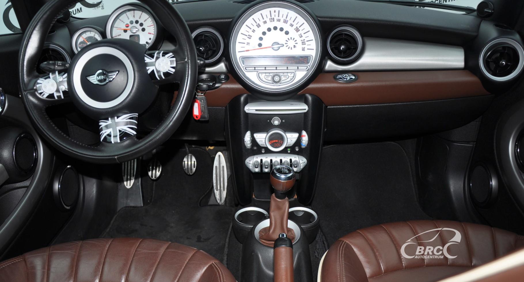Mini Cooper S Cabrio 1.6i 16V Turbo