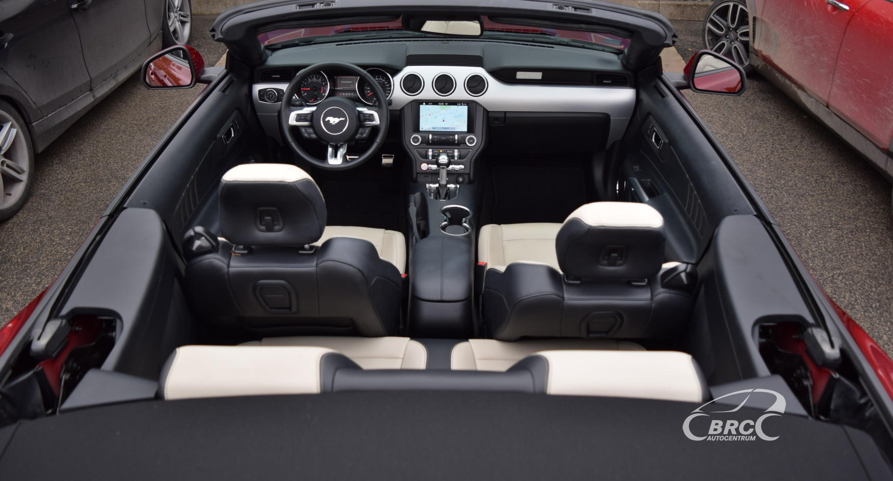 Ford Mustang Convertible EU version