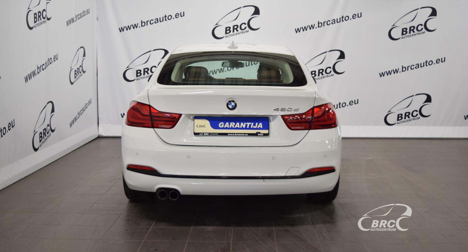 BMW 420 D GranCoupe Sport Line