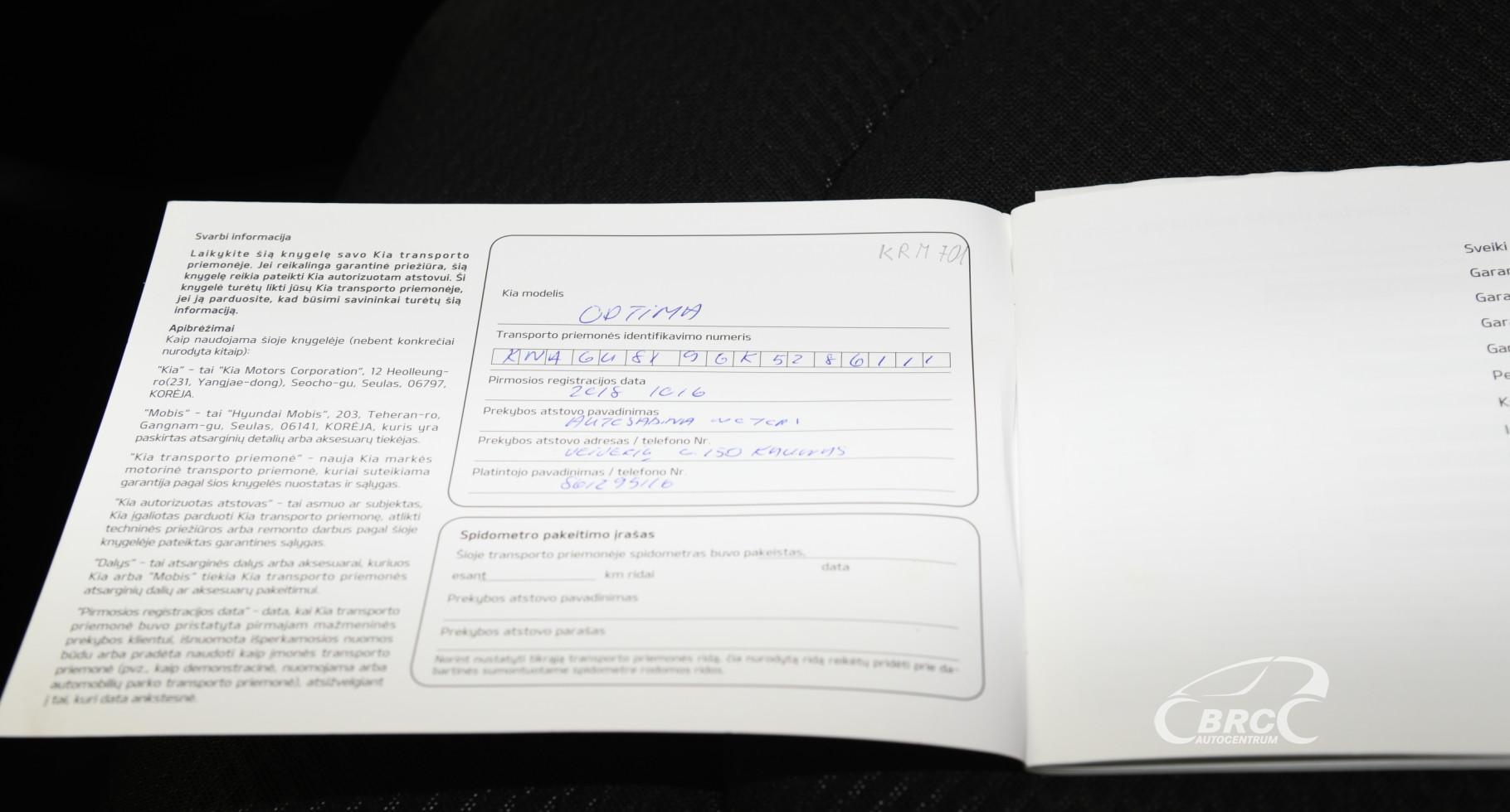 Kia Optima 1.6 CRDi SW Automatas