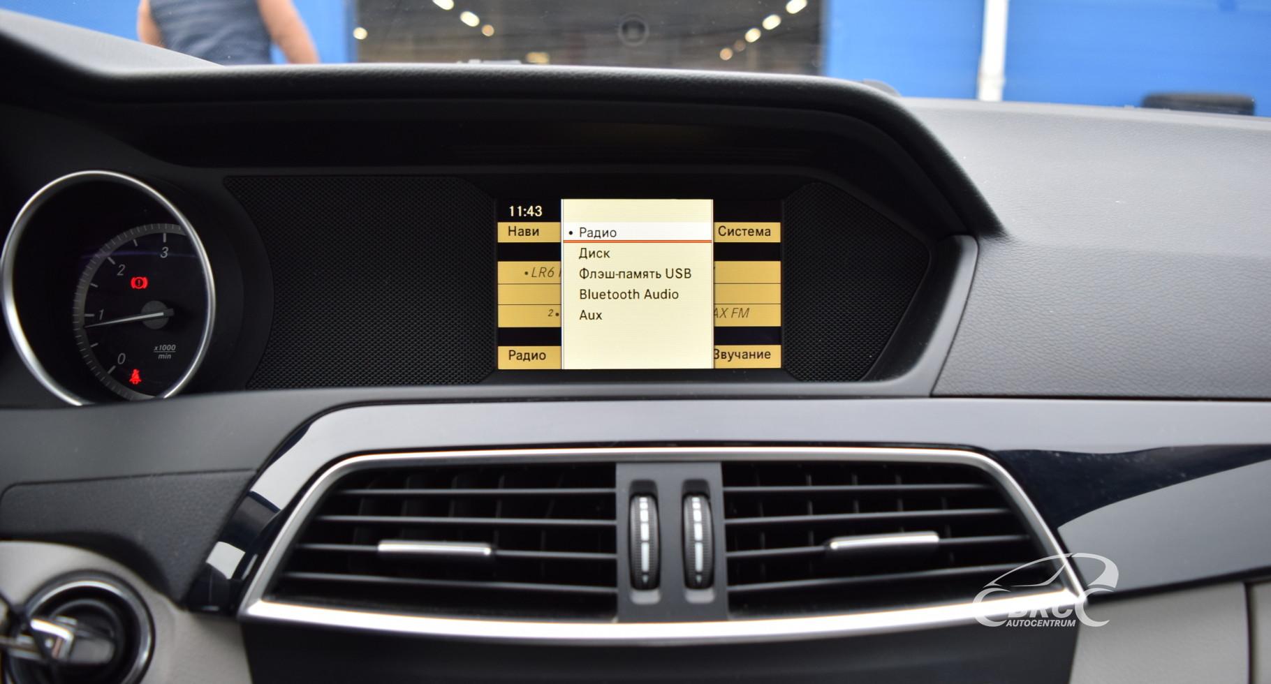 Mercedes-Benz C 200 CDi BlueEfficiency M/T