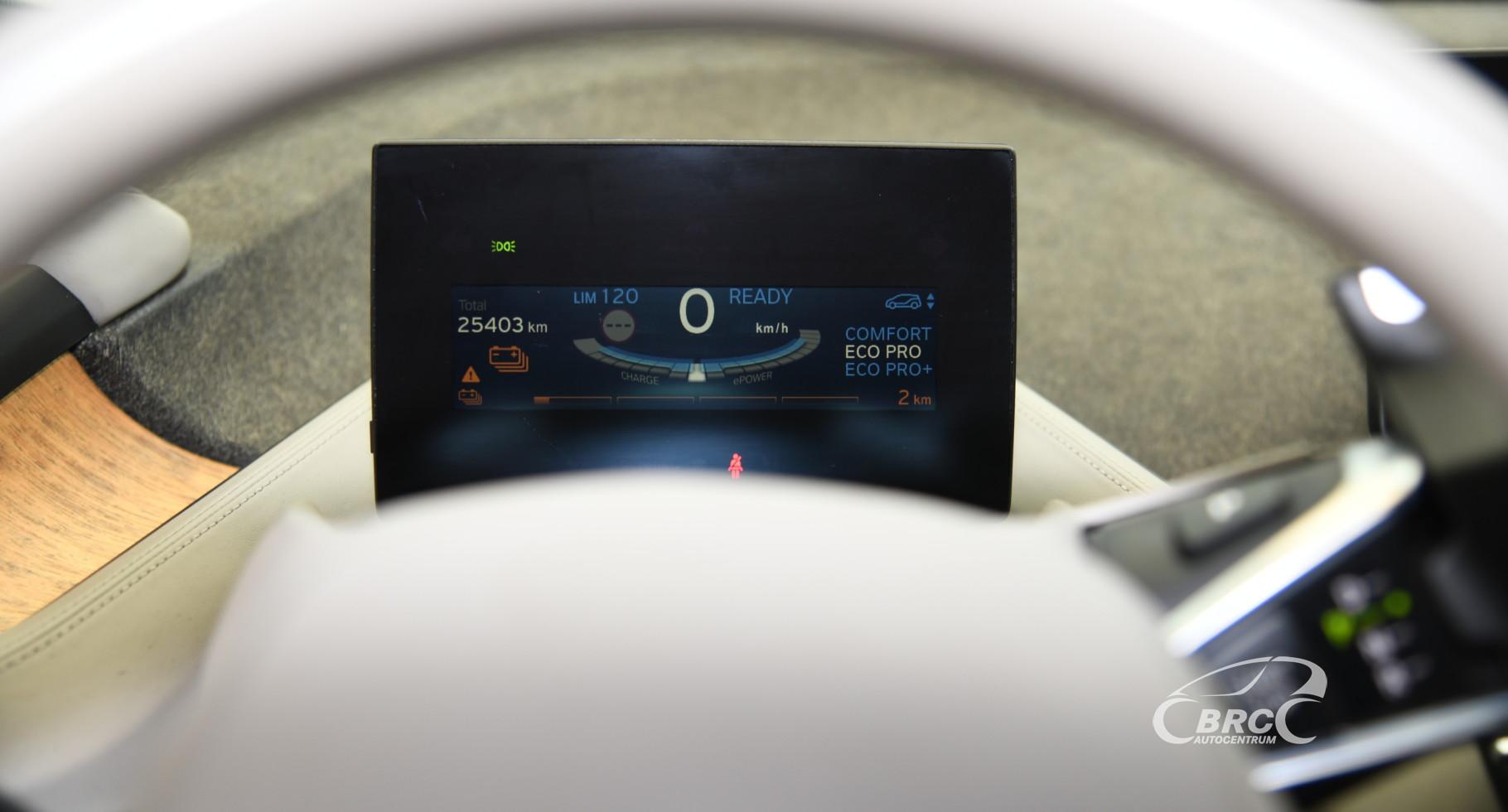 BMW i3 E-drive Automatas