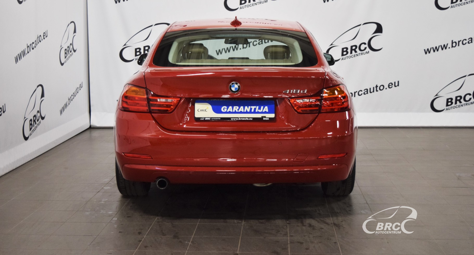 BMW 418 Gran Coupe D