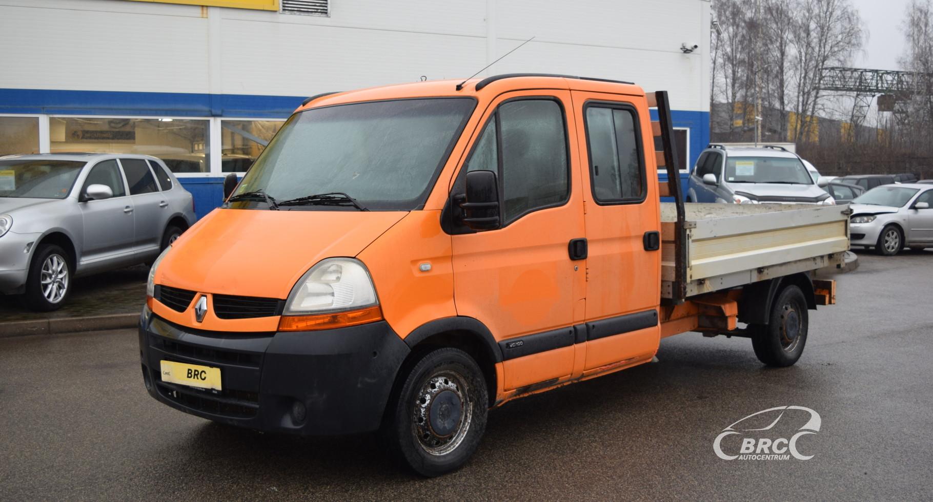 Renault Master 7 sēdvietas