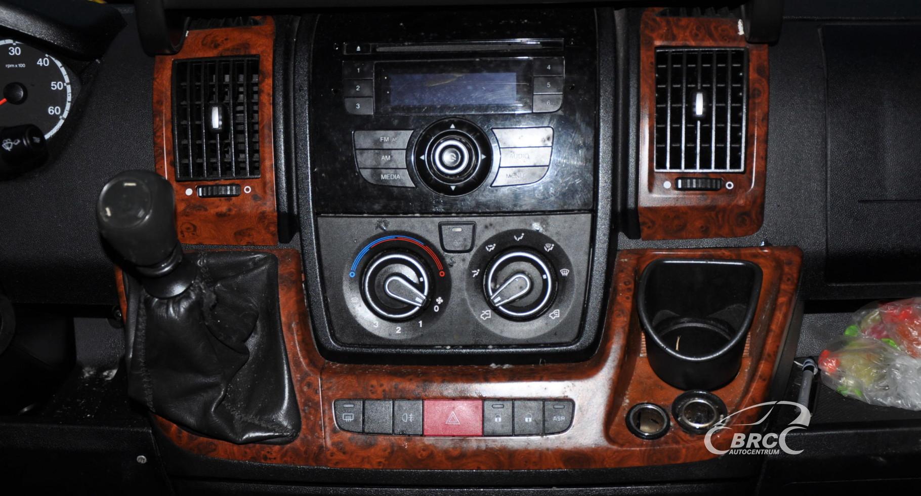 Fiat Ducato 2.3 HDI Multijet MAXI Variklio defektas