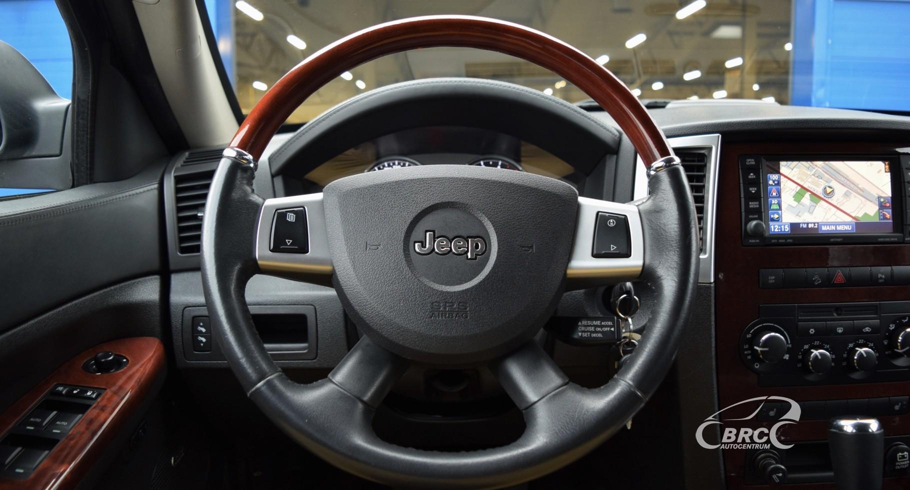 Jeep Grand Cherokee CRD Overland