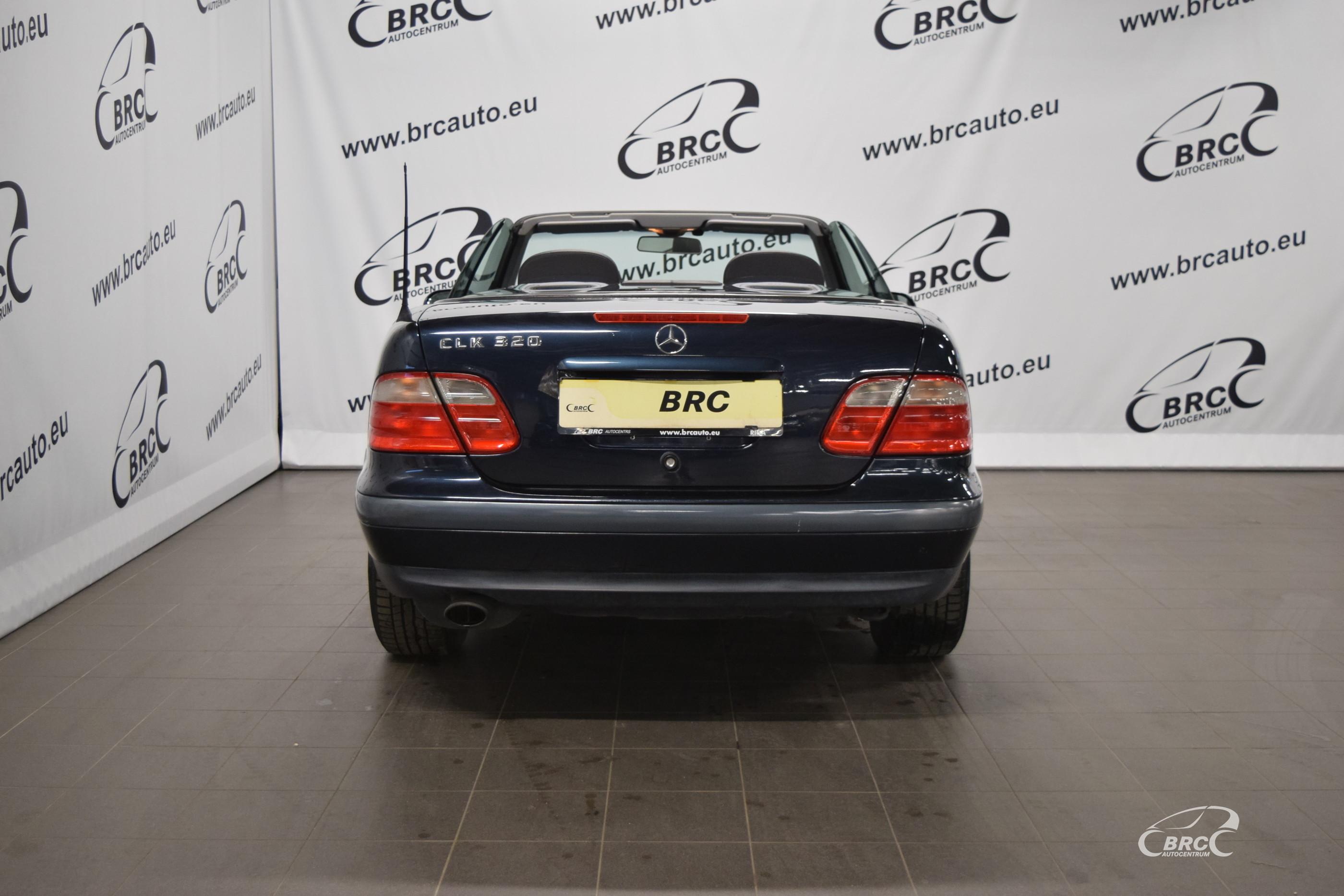 Mercedes-Benz CLK 320 Cabrio
