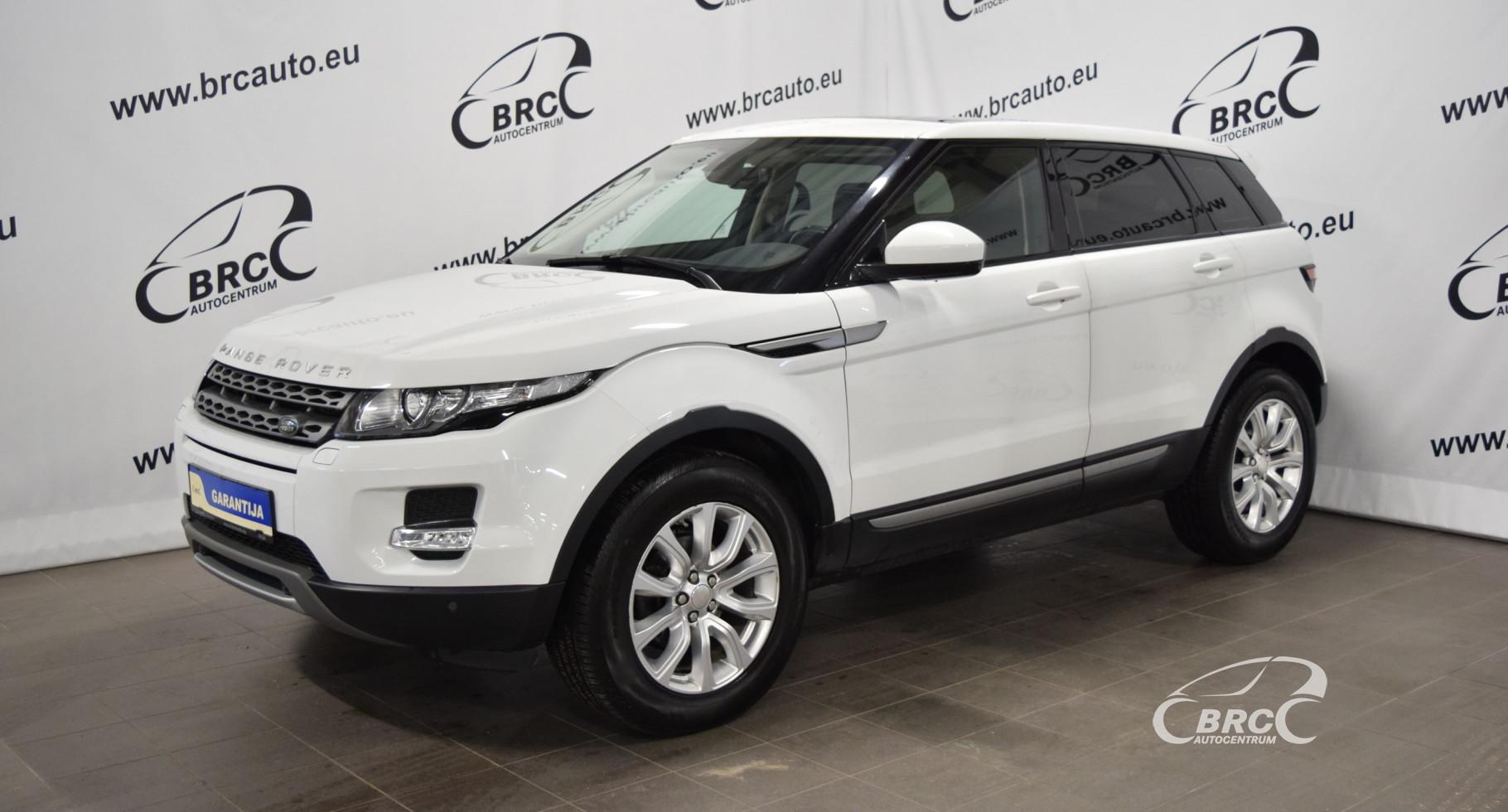 Land-Rover Range Rover Evoque TD4