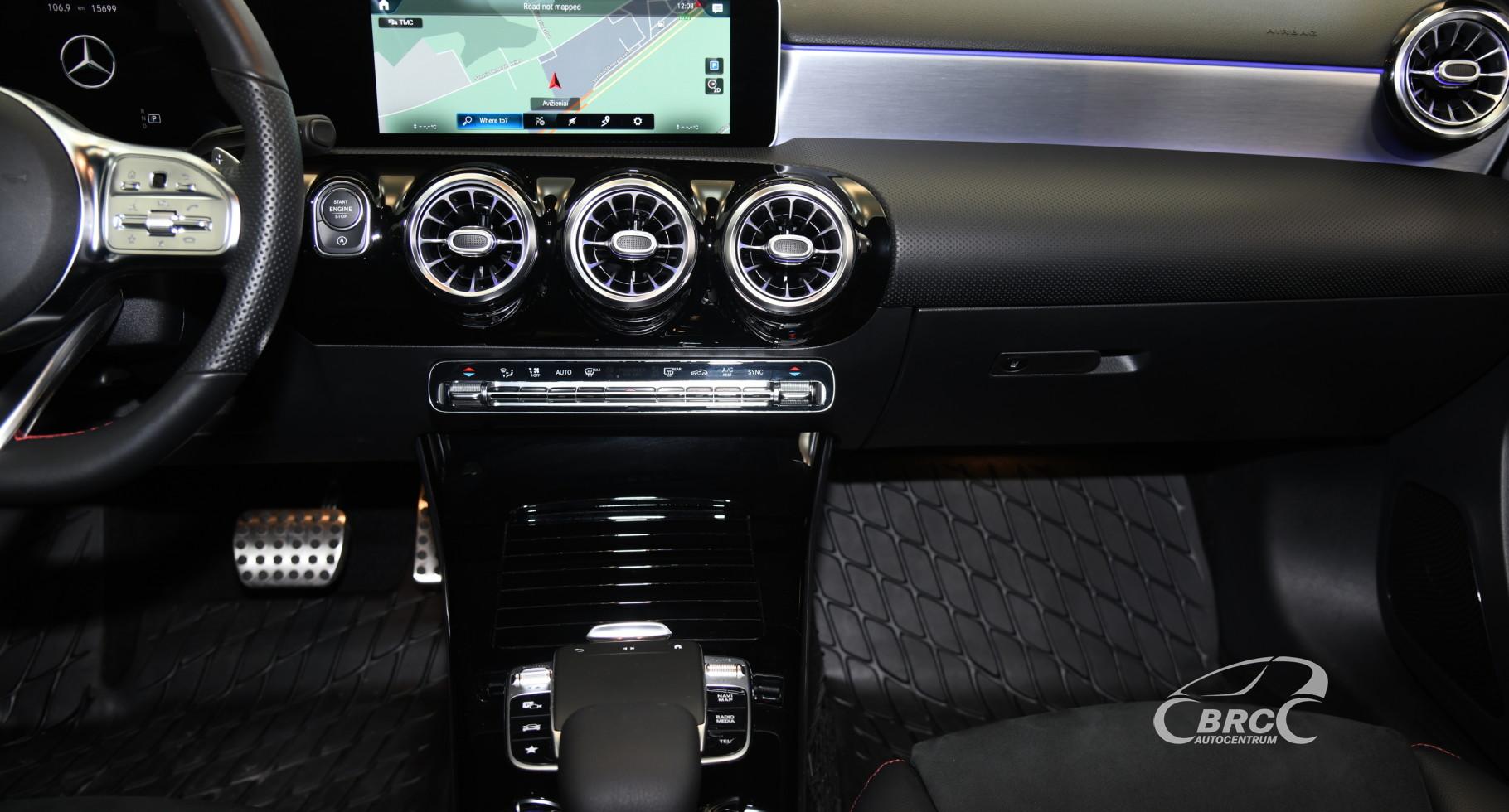 Mercedes-Benz A 200 d AMG design Automatas