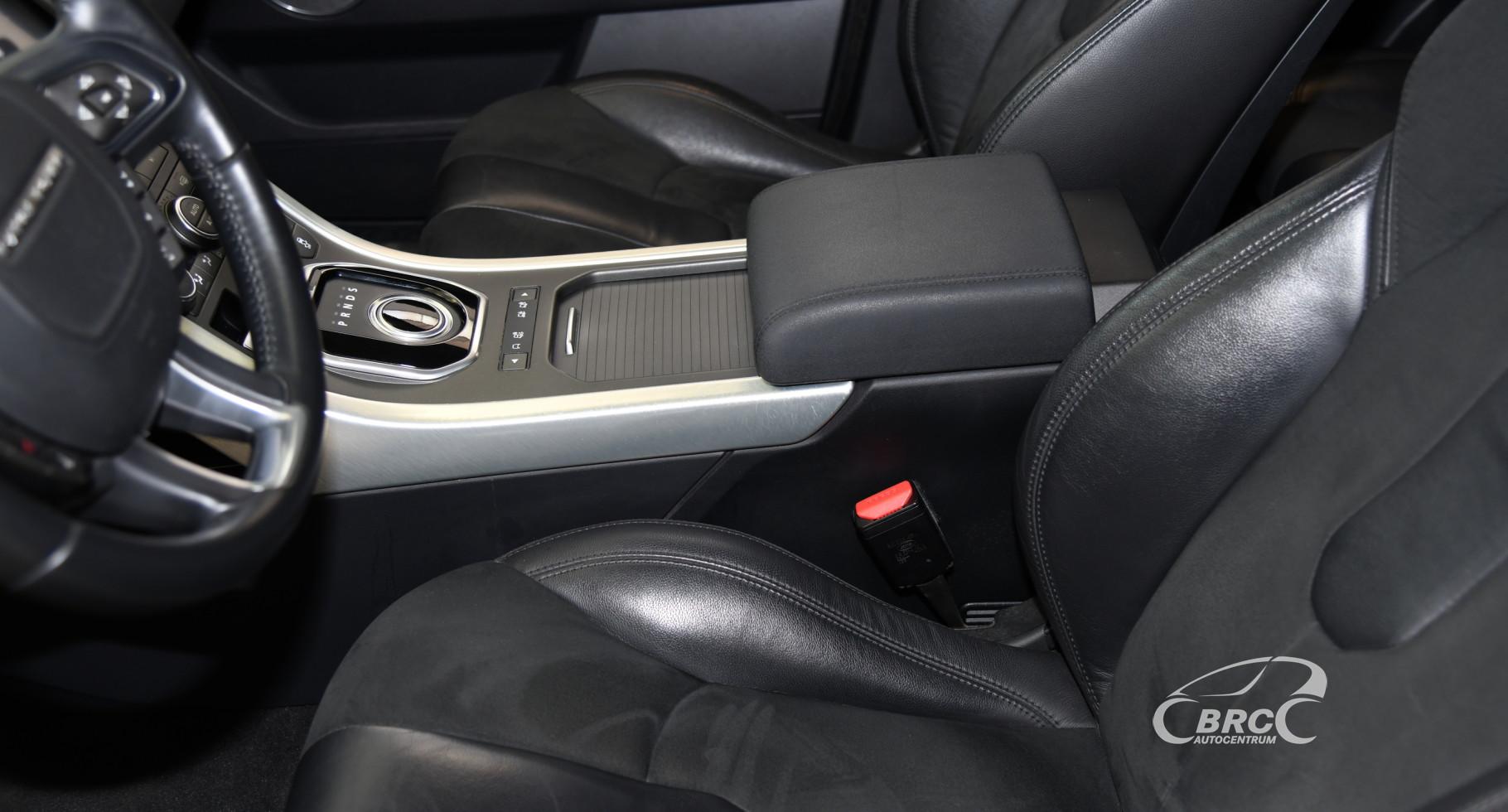 Land-Rover Range Rover Evoque TD4 Automatas